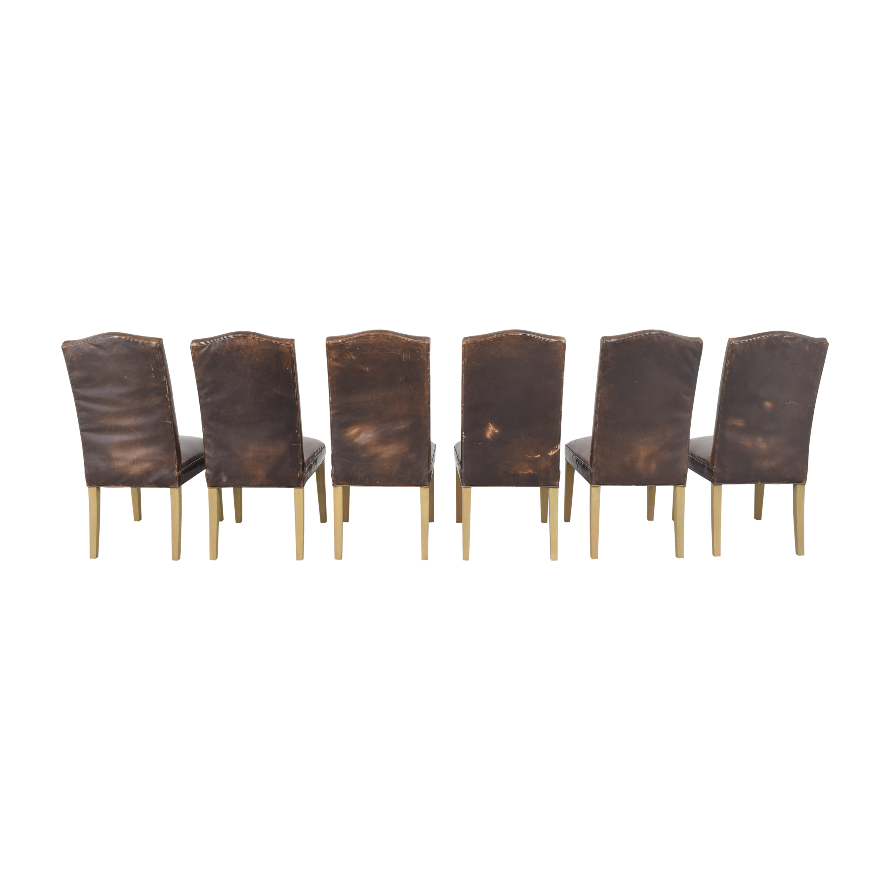 Restoration Hardware Restoration Hardware Hudson Camelback Side Chairs nj