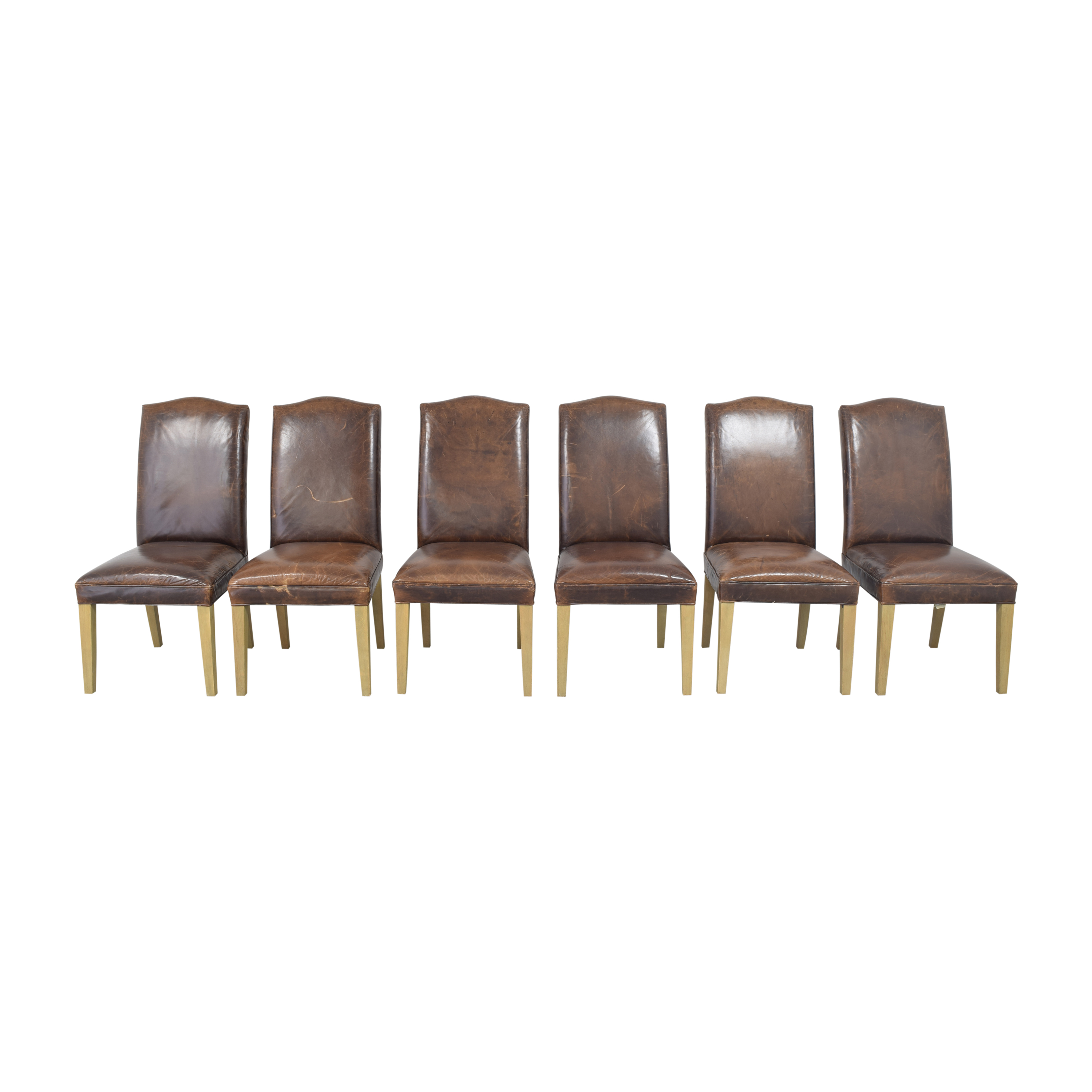 Restoration Hardware Restoration Hardware Hudson Camelback Side Chairs second hand