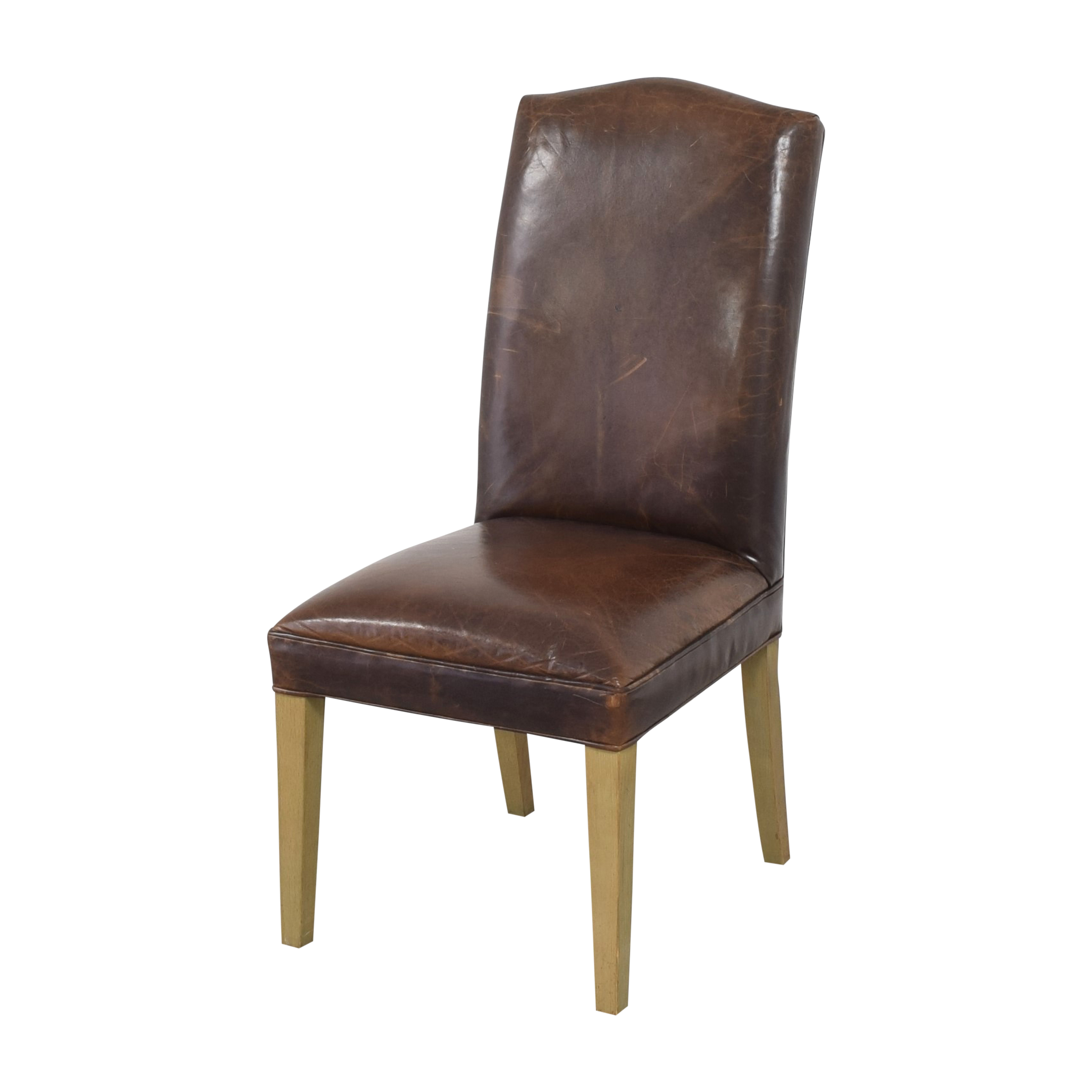 Restoration Hardware Restoration Hardware Hudson Camelback Side Chairs for sale