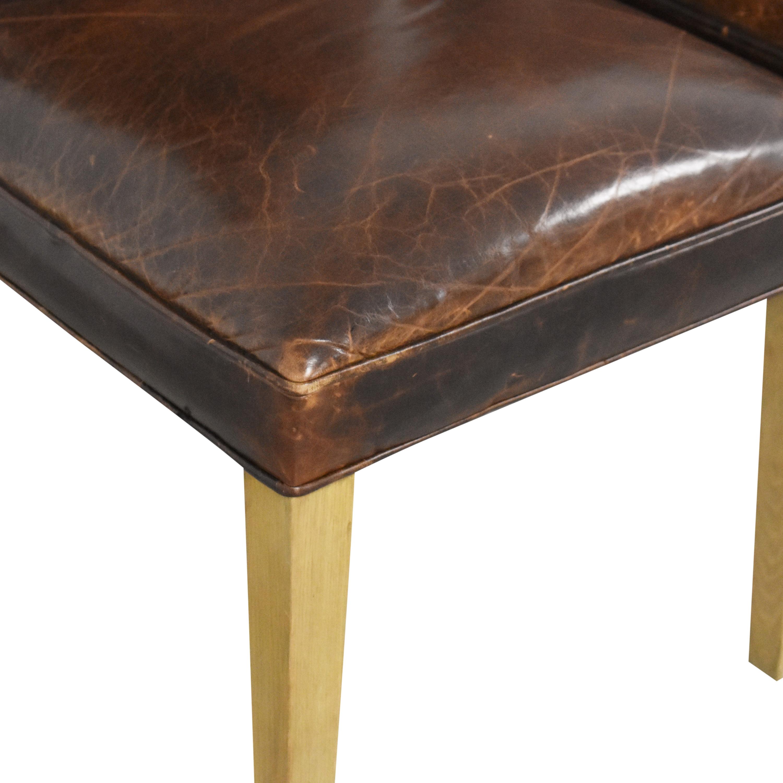 buy Restoration Hardware Hudson Camelback Side Chairs Restoration Hardware Dining Chairs