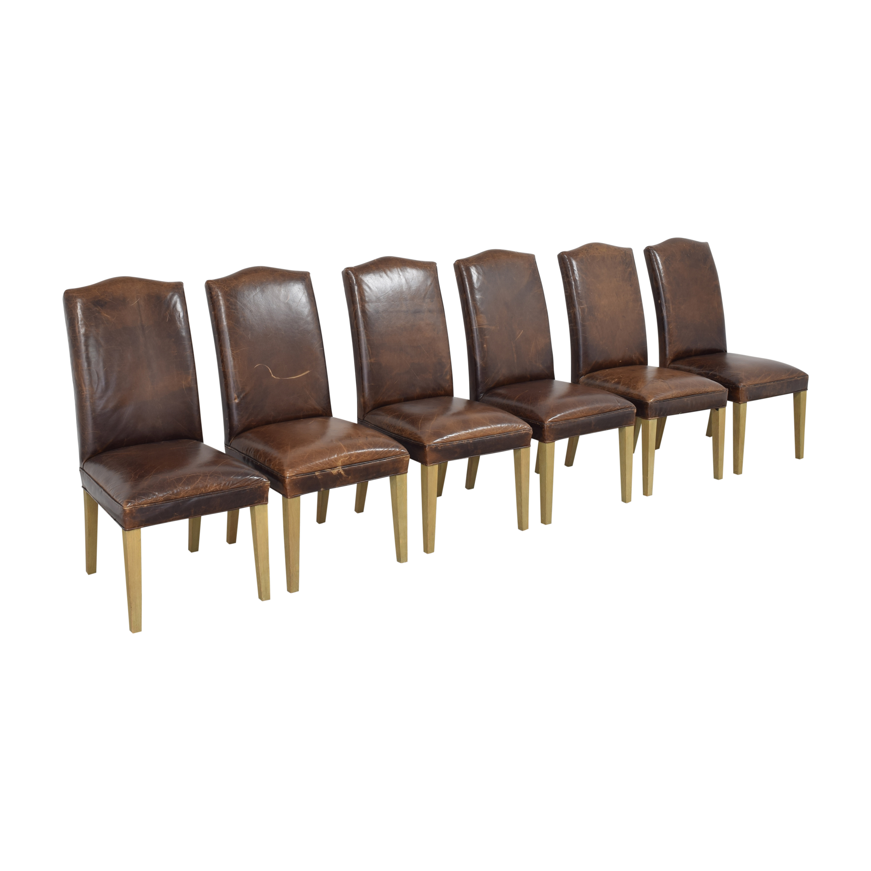 Restoration Hardware Restoration Hardware Hudson Camelback Side Chairs nyc