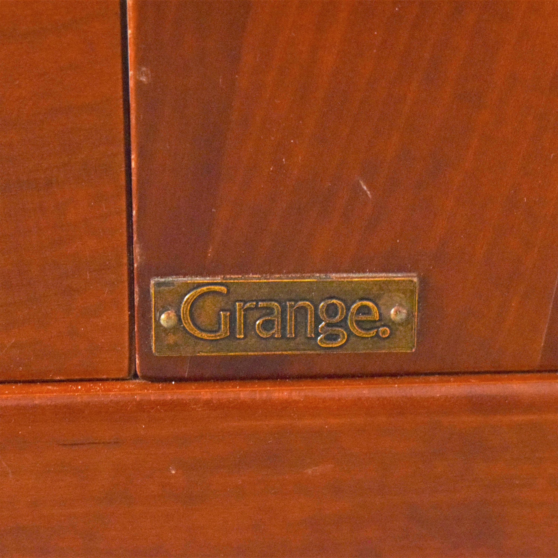 Grange Grange King Demi Sleigh Bed ma