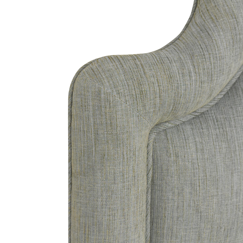 Custom Upholstered Queen Headboard used