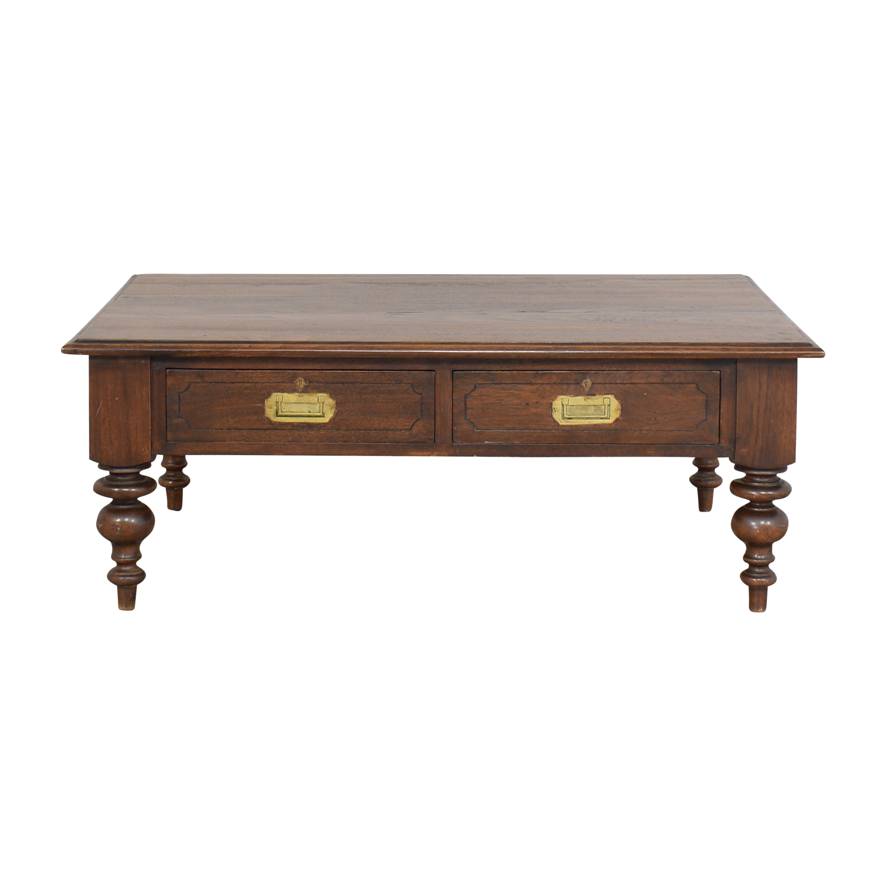 Two Drawer Coffee Table for sale