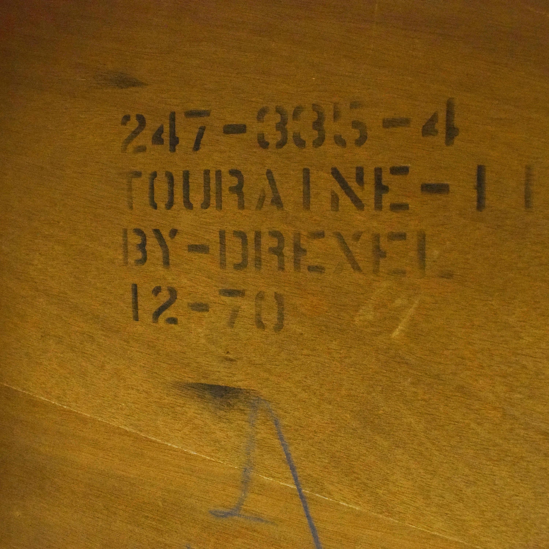 Drexel Drexel Touraine Extendable Dining Table dimensions