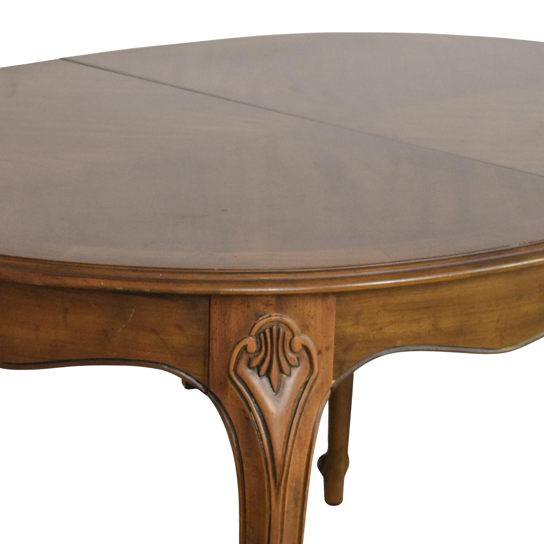 Drexel Touraine Extendable Dining Table Drexel