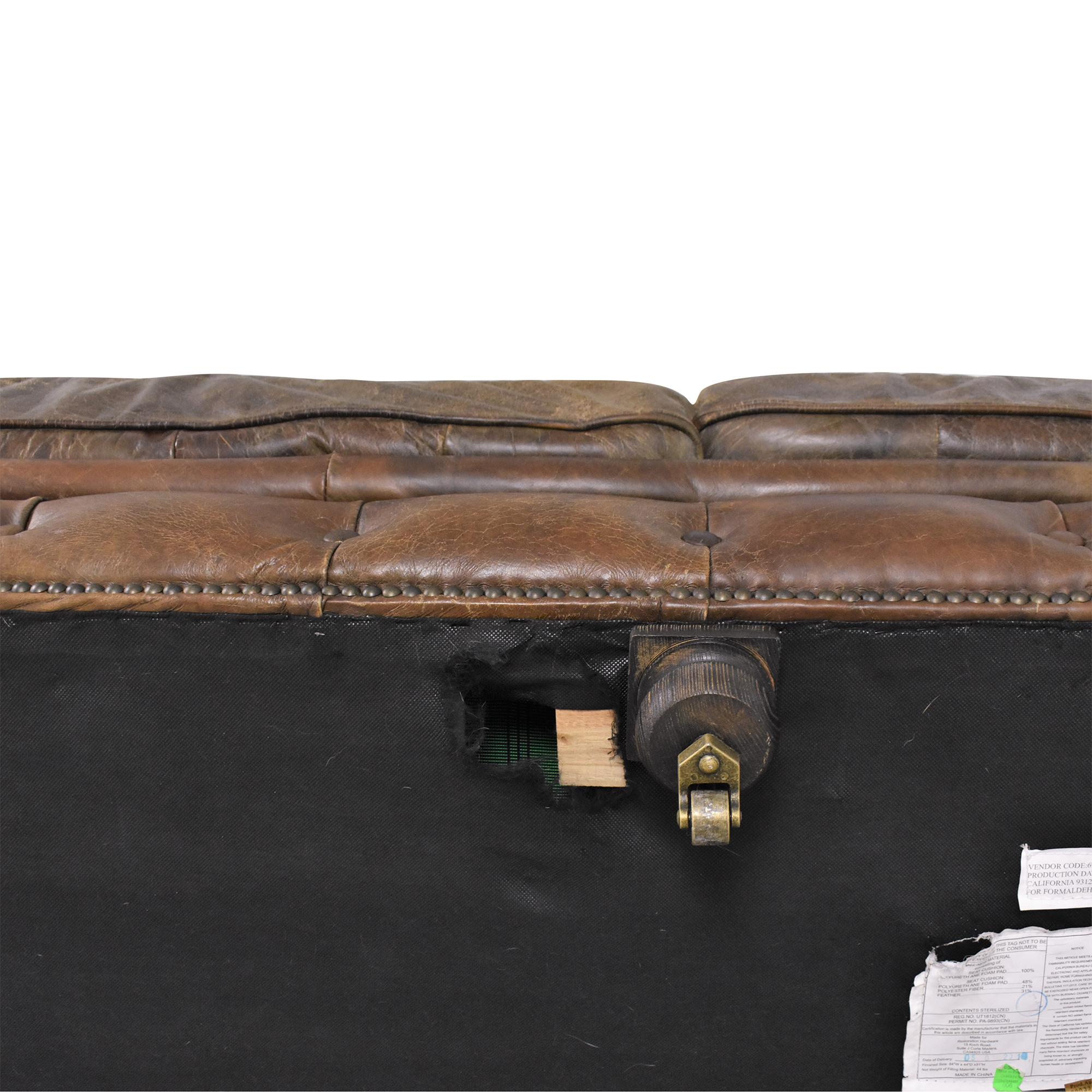 shop Restoration Hardware Kensington Sofa Restoration Hardware Classic Sofas