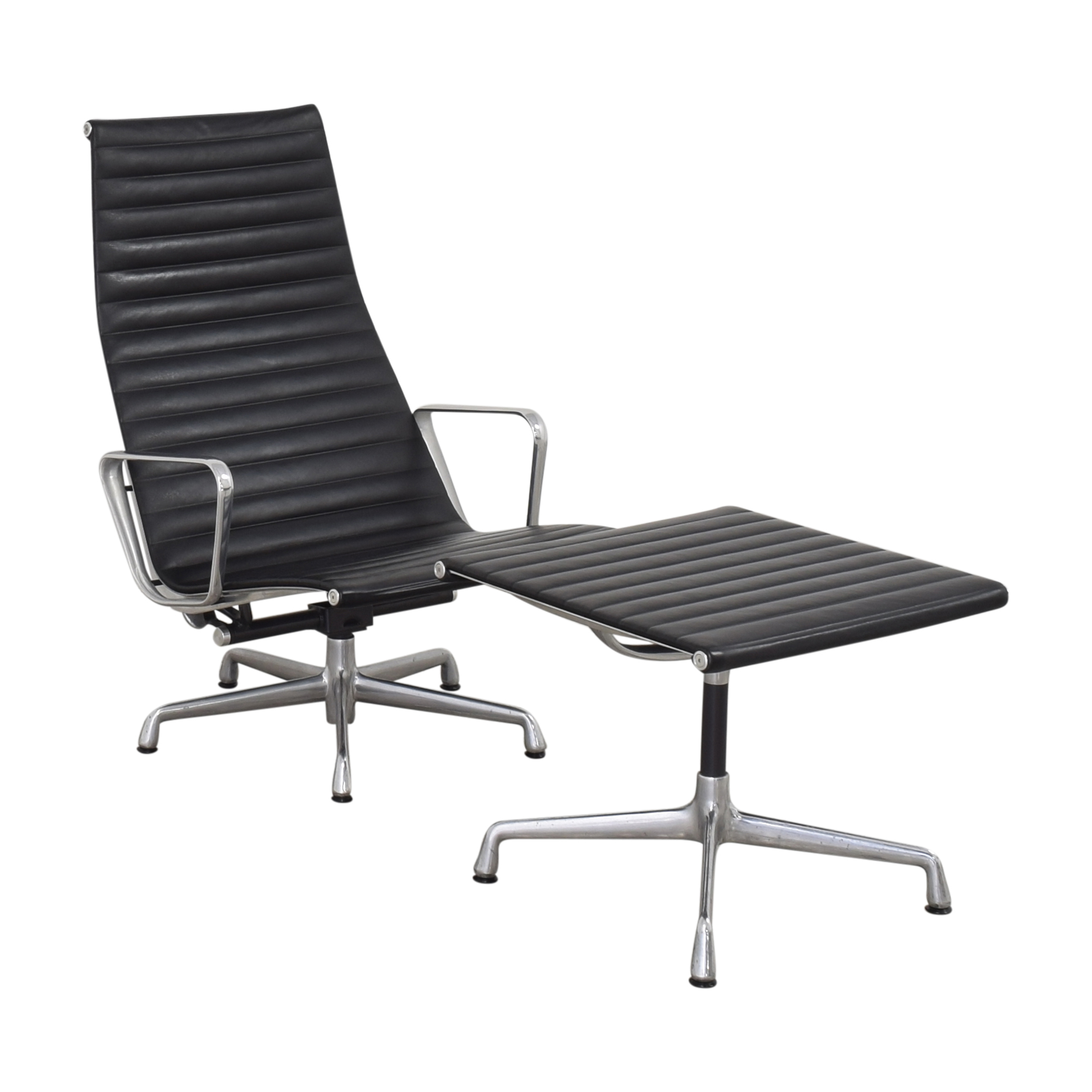 buy Herman Miller Eames Group Lounge Chair and Ottoman Herman Miller