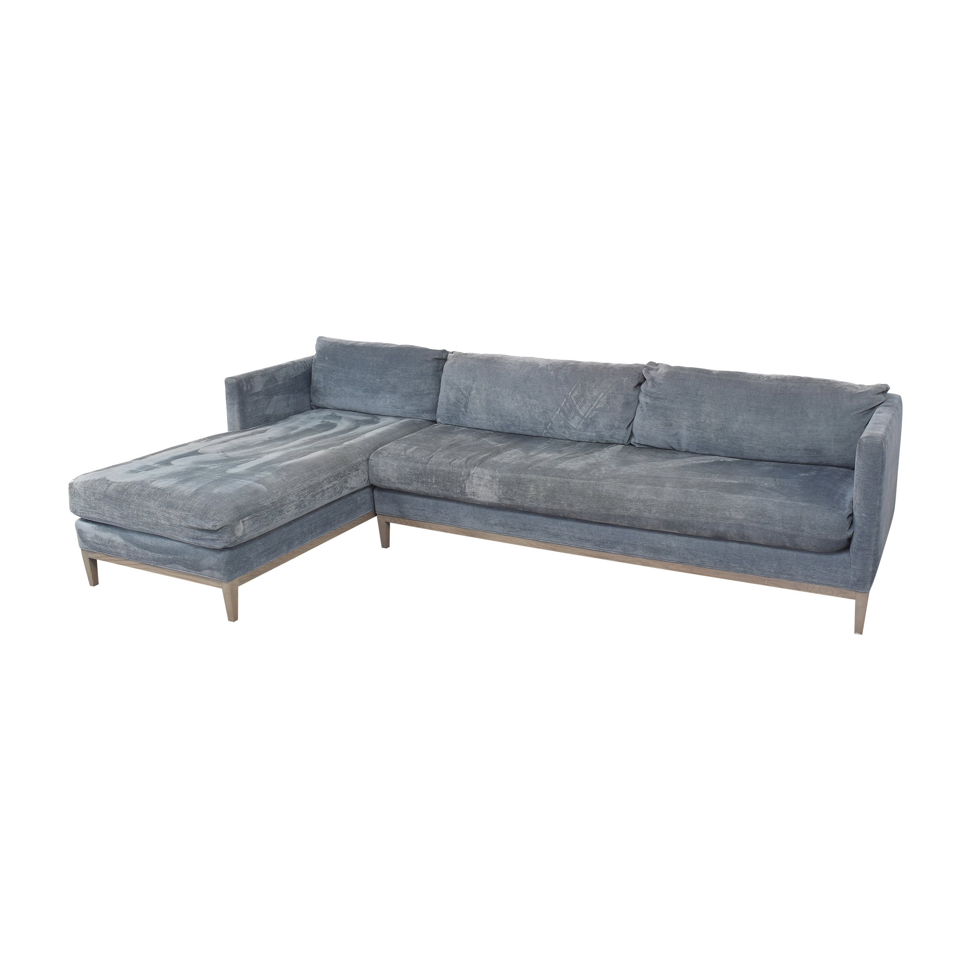 Lee Industries Chaise Sectional Sofa sale