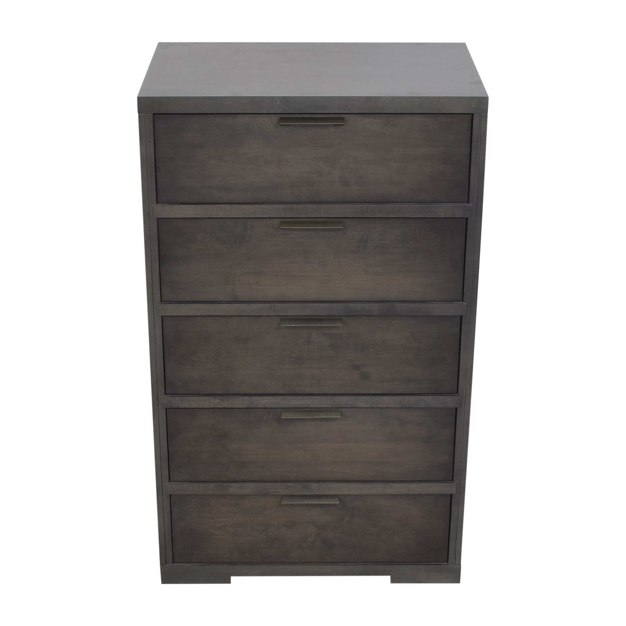 Baronet Baronet Silver Five Drawer Chest ct