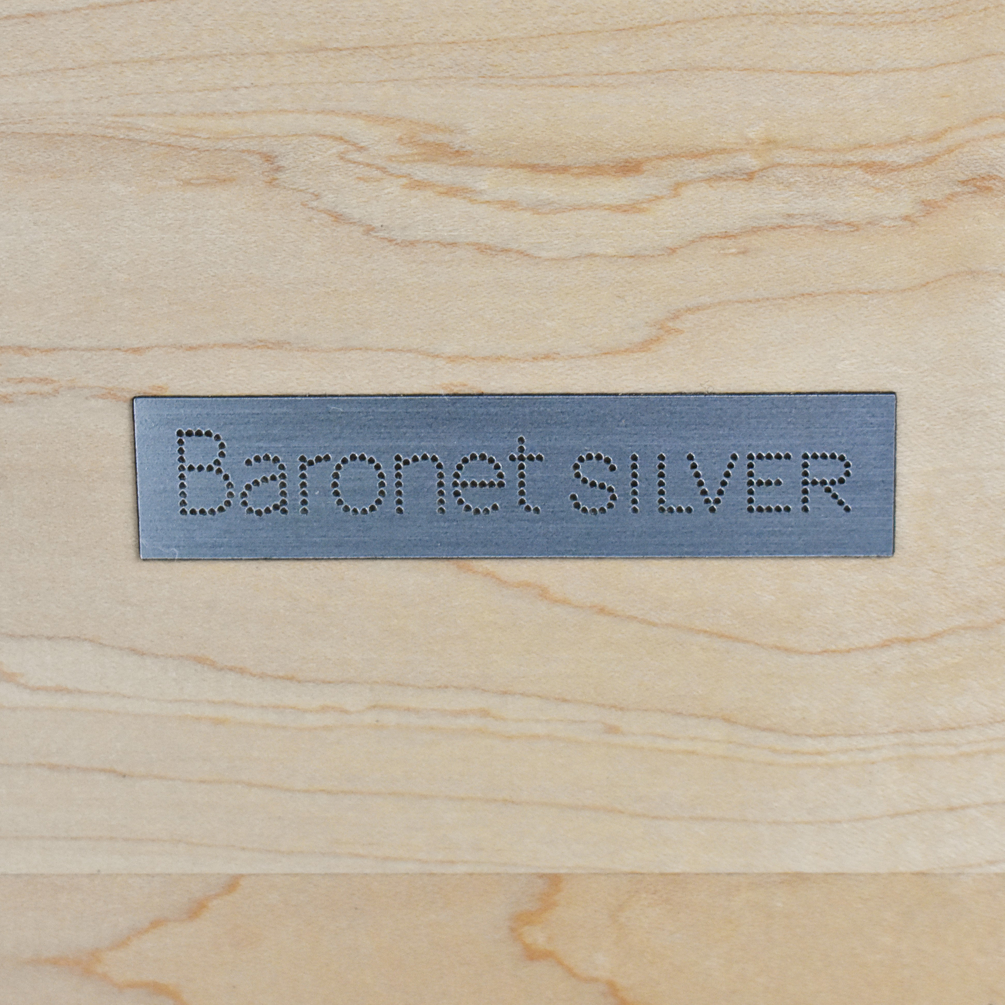 Baronet Silver Five Drawer Chest / Dressers