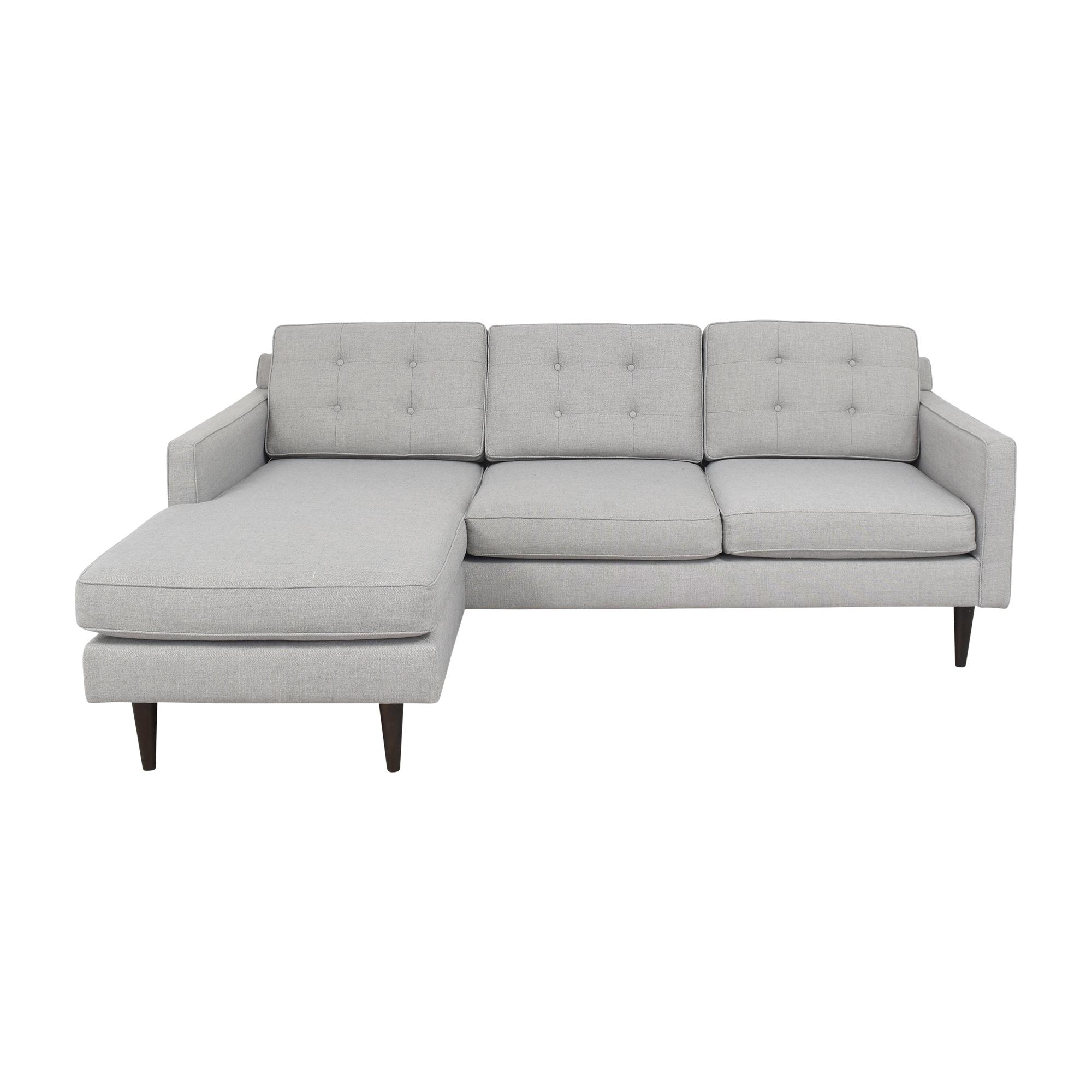 buy West Elm West Elm Drake Reversible Sectional Sofa online