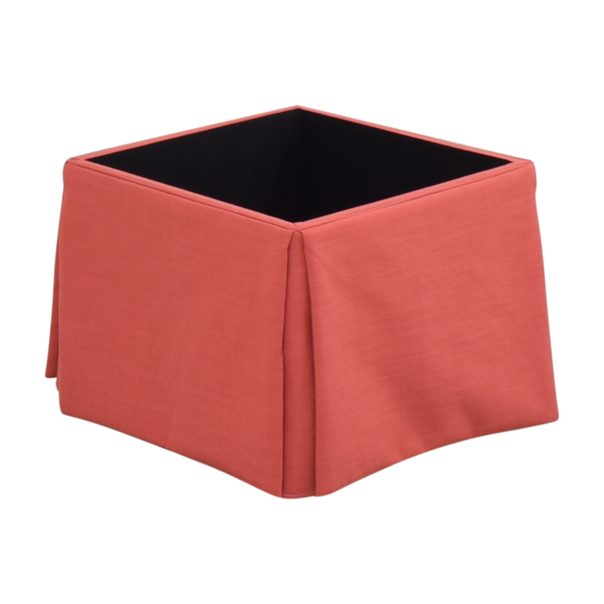 buy The Inside The Inside Skirted Storage Ottoman online