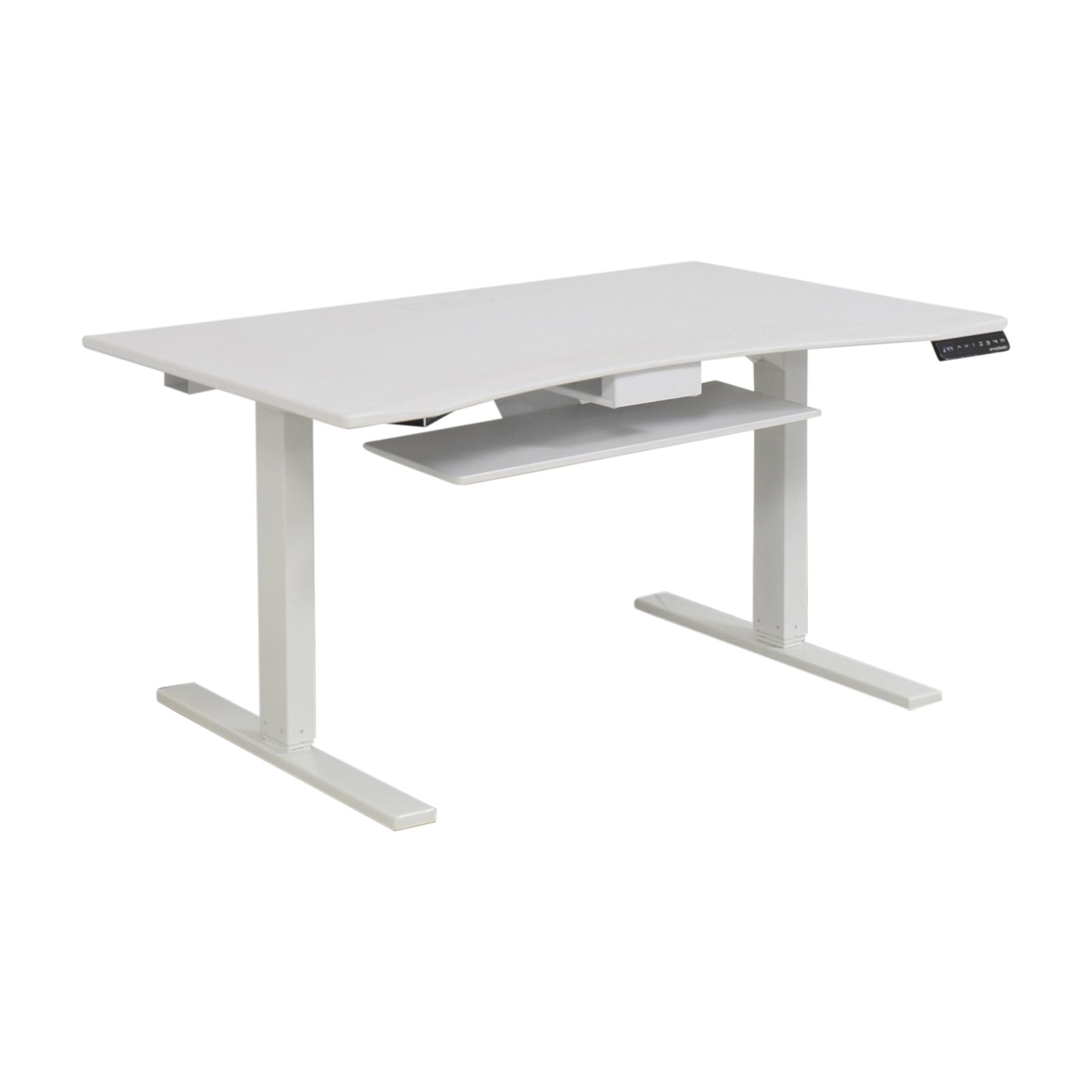buy Evodesk Power Adjustable Standing Desk Evodesk