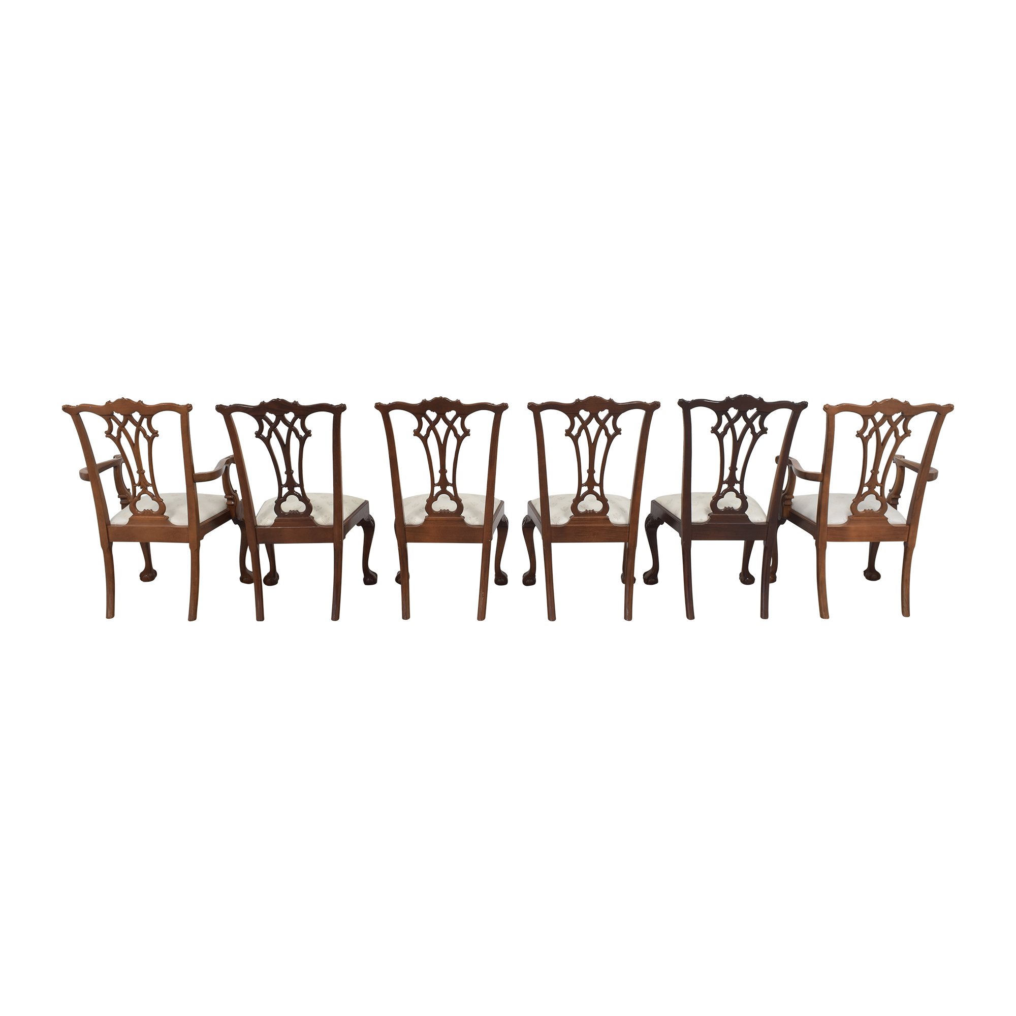American Drew American Drew Chippendale Dining Chairs