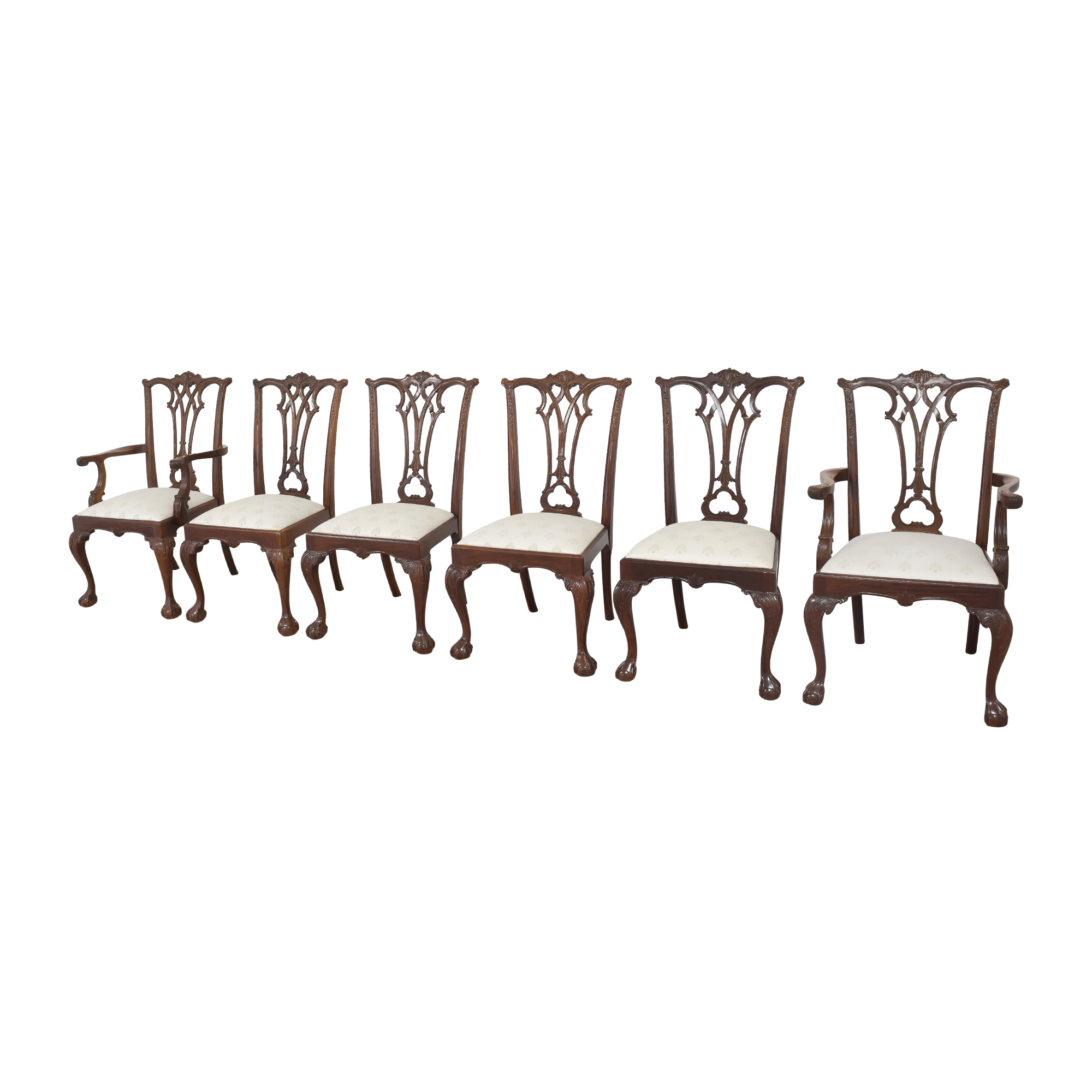 American Drew American Drew Chippendale Dining Chairs nj