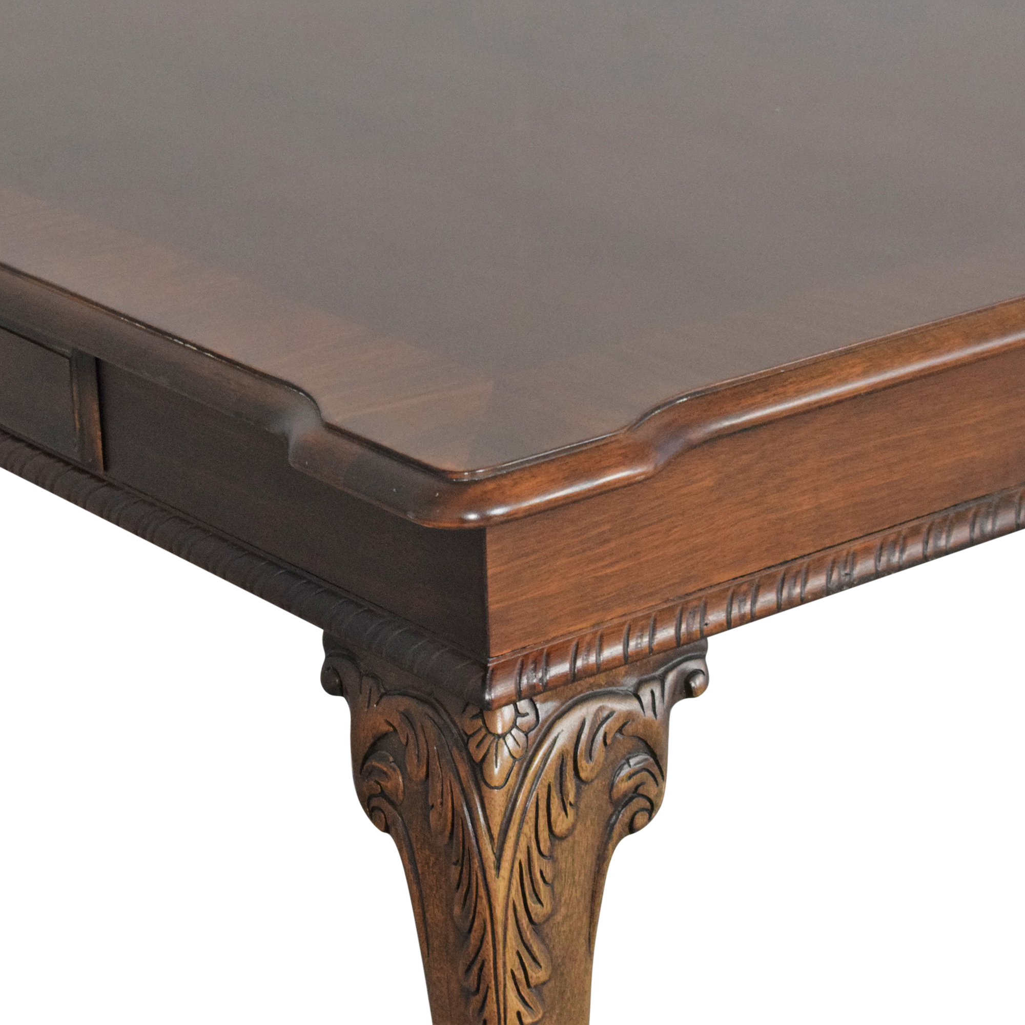 American Drew American Drew Carved Extendable Dining Table ct