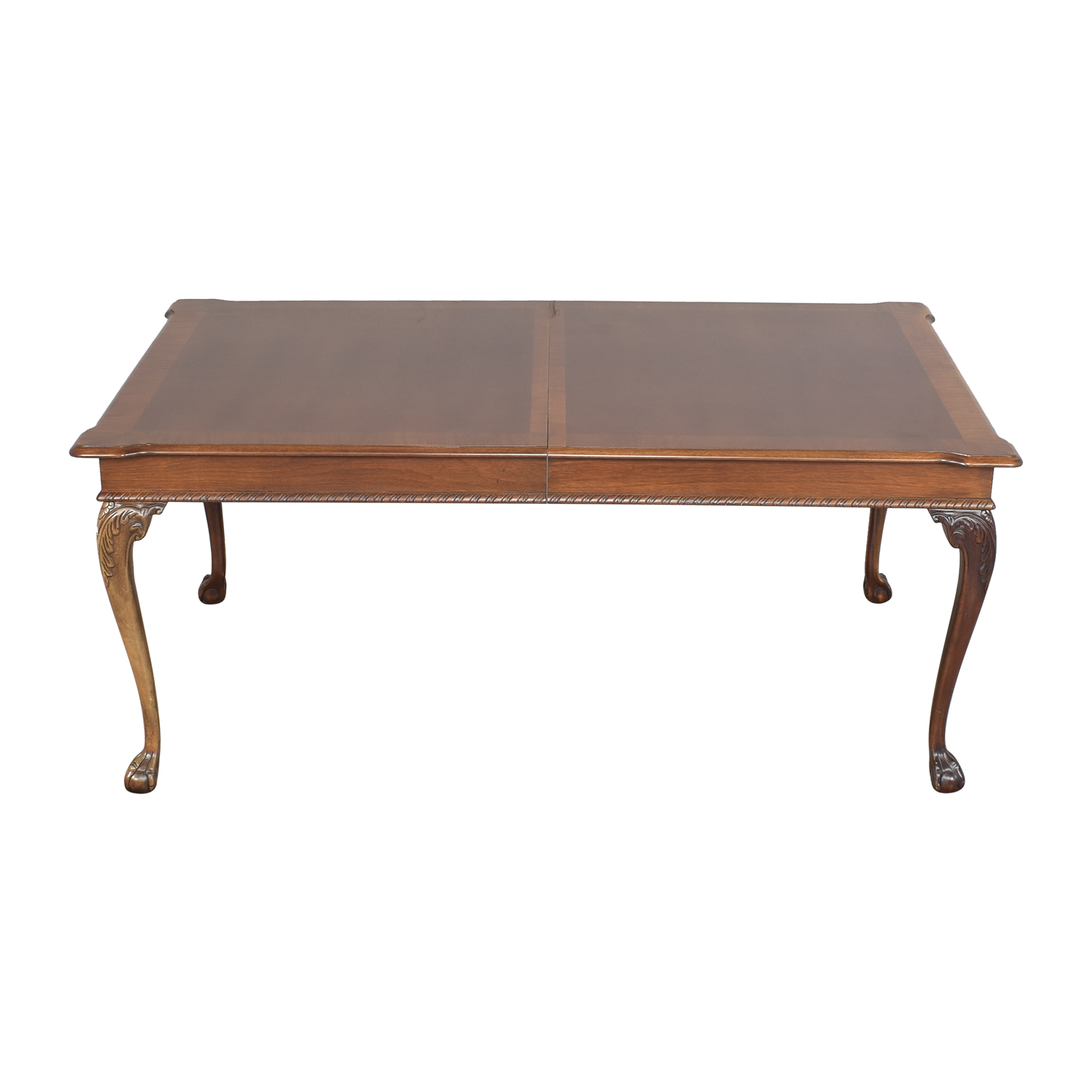American Drew American Drew Carved Extendable Dining Table used