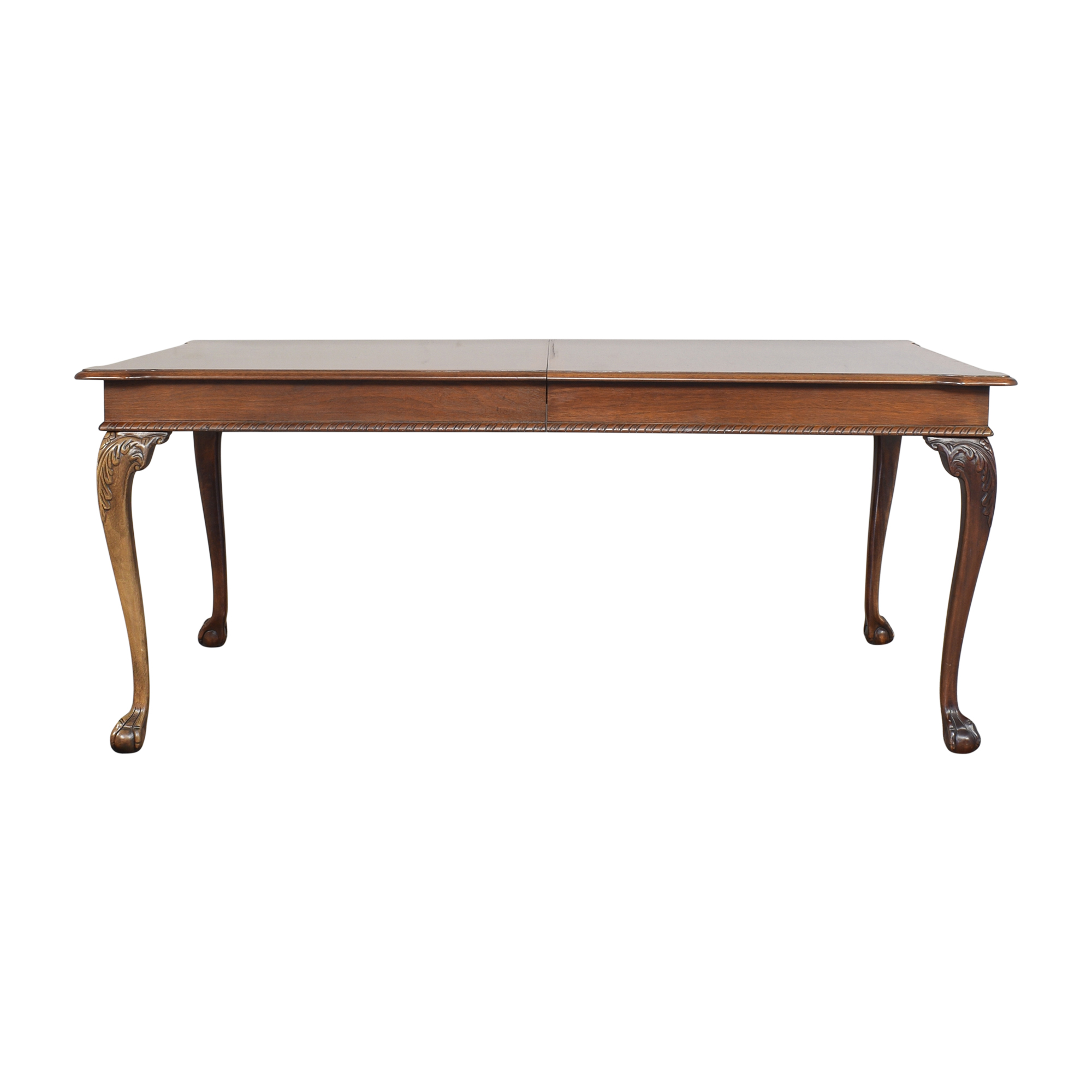 American Drew American Drew Carved Extendable Dining Table for sale