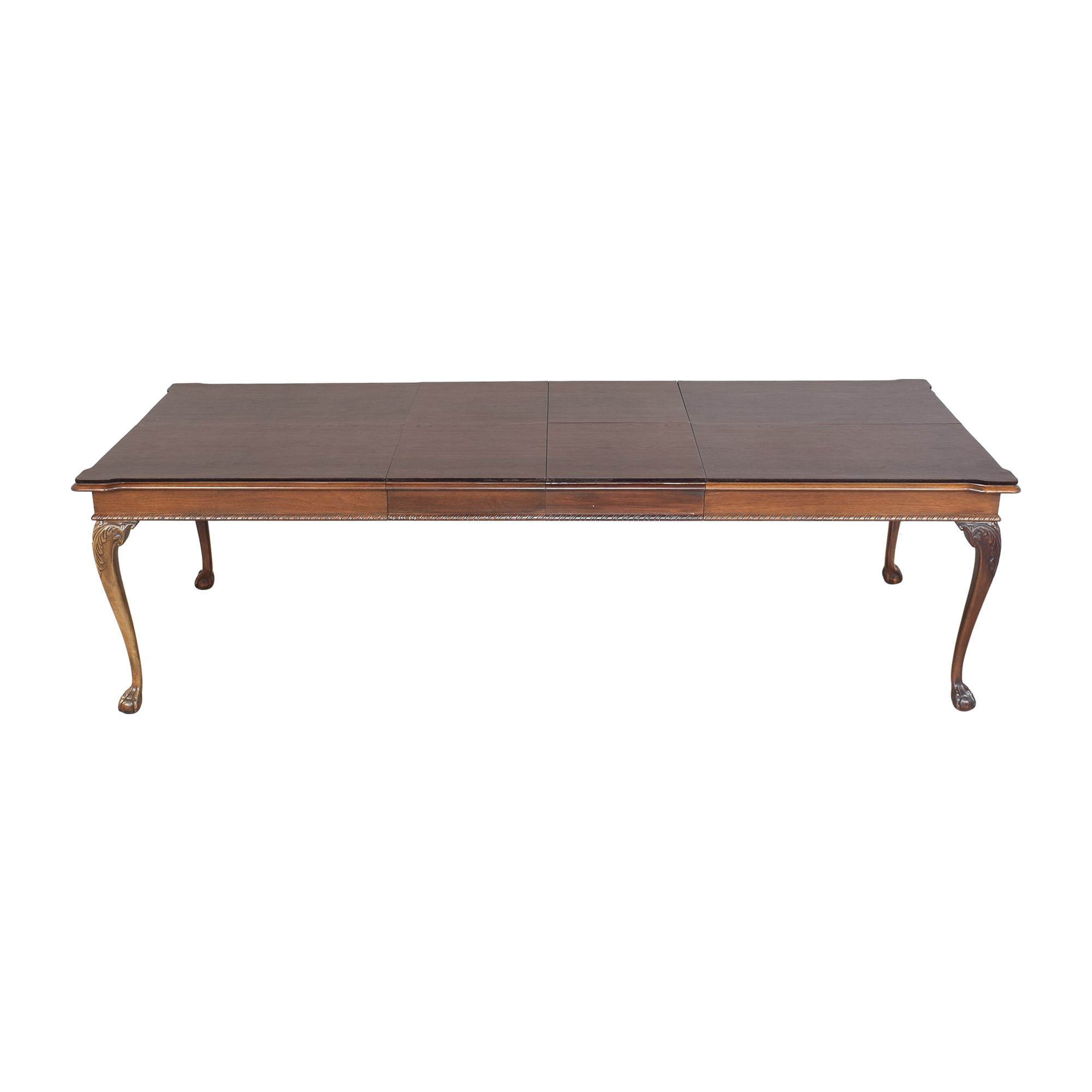 American Drew Carved Extendable Dining Table sale