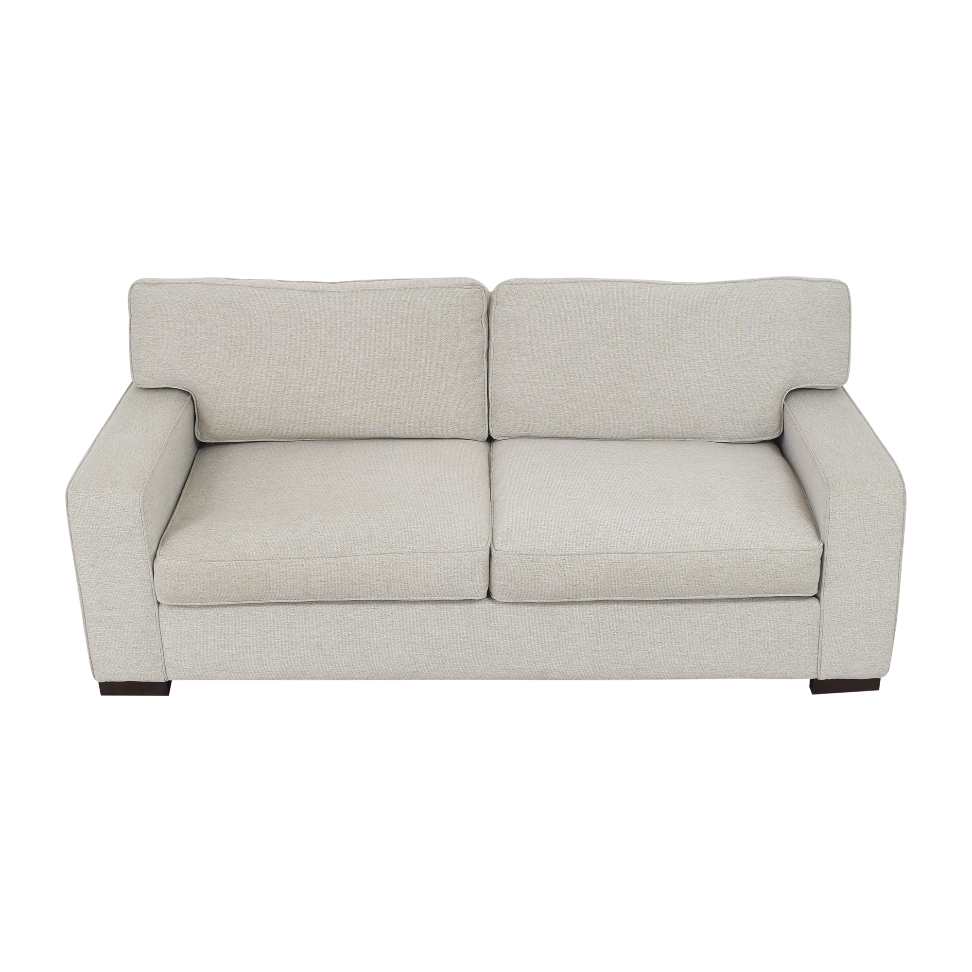 Max Home Max Home Wellesley Two Cushion Sofa light gray