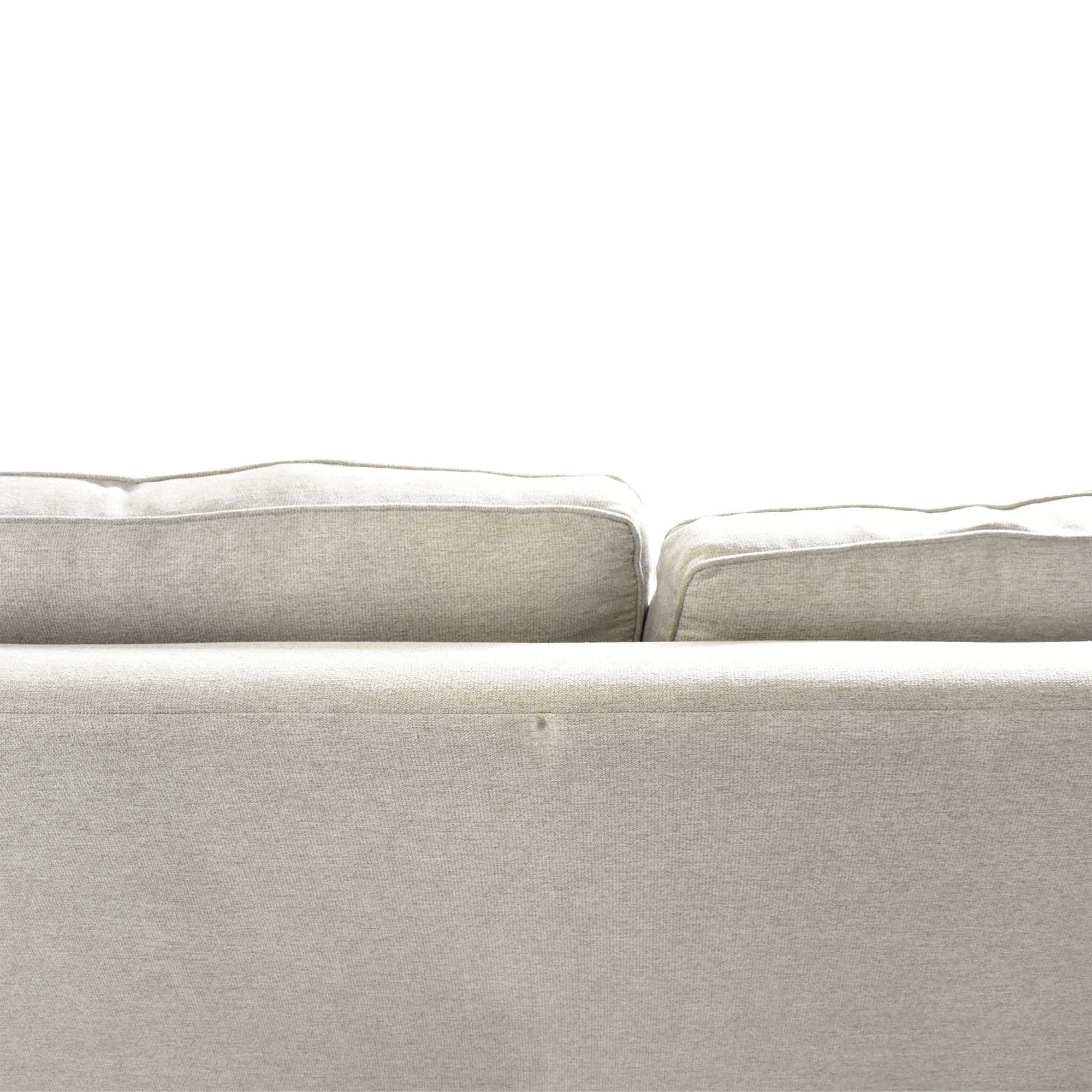 buy Max Home Wellesley Two Cushion Sofa Max Home