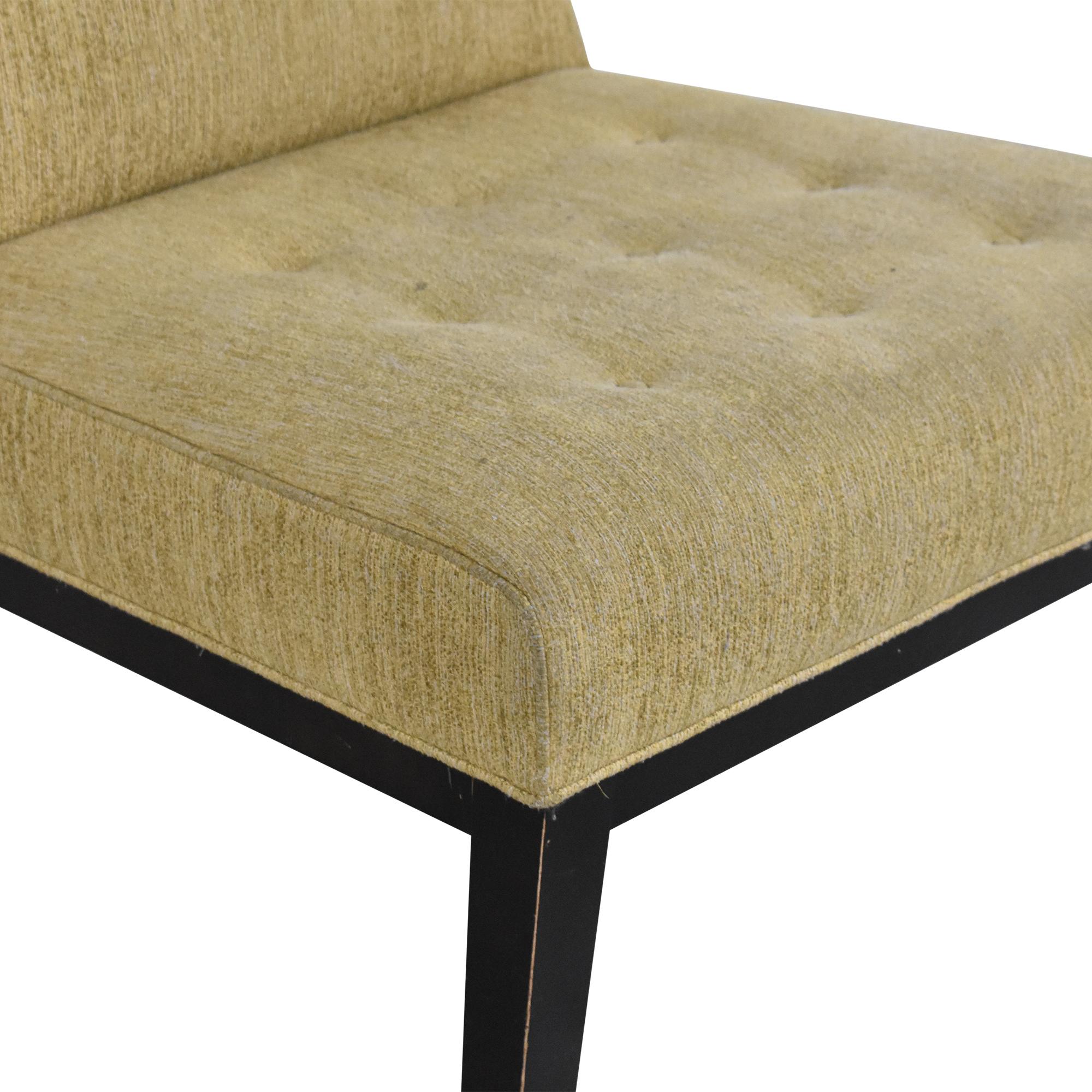 Room & Board Room & Board Tufted Slipper Chair dimensions