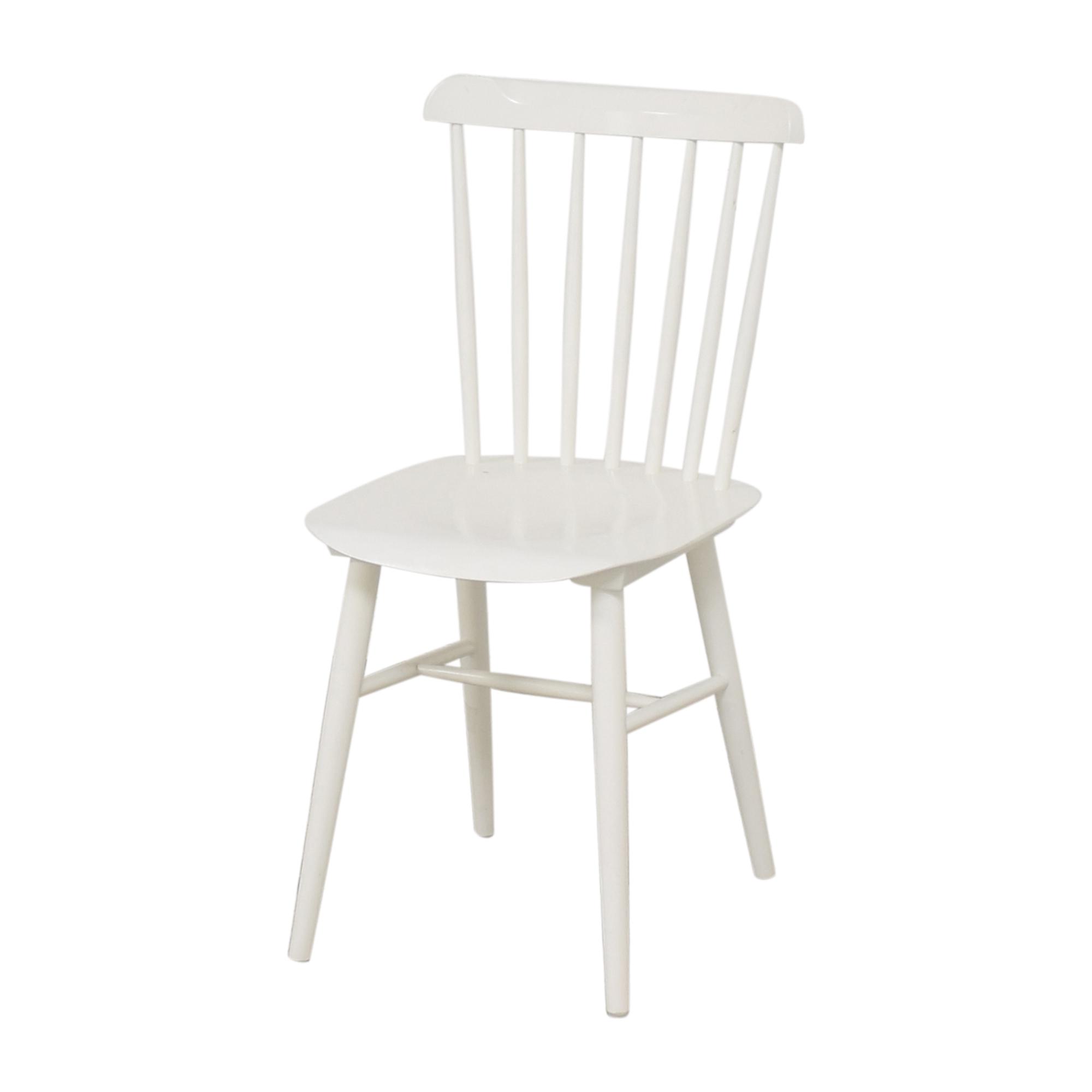 Design Within Reach Design Within Reach Salt Side Chairs white