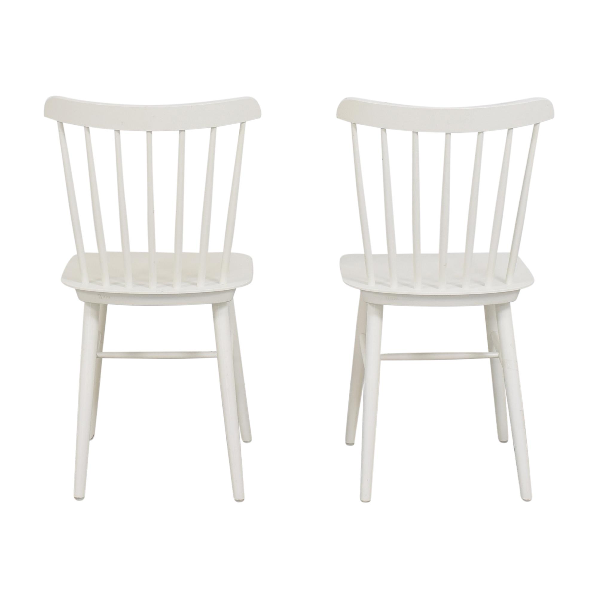 Design Within Reach Design Within Reach Salt Side Chairs nj