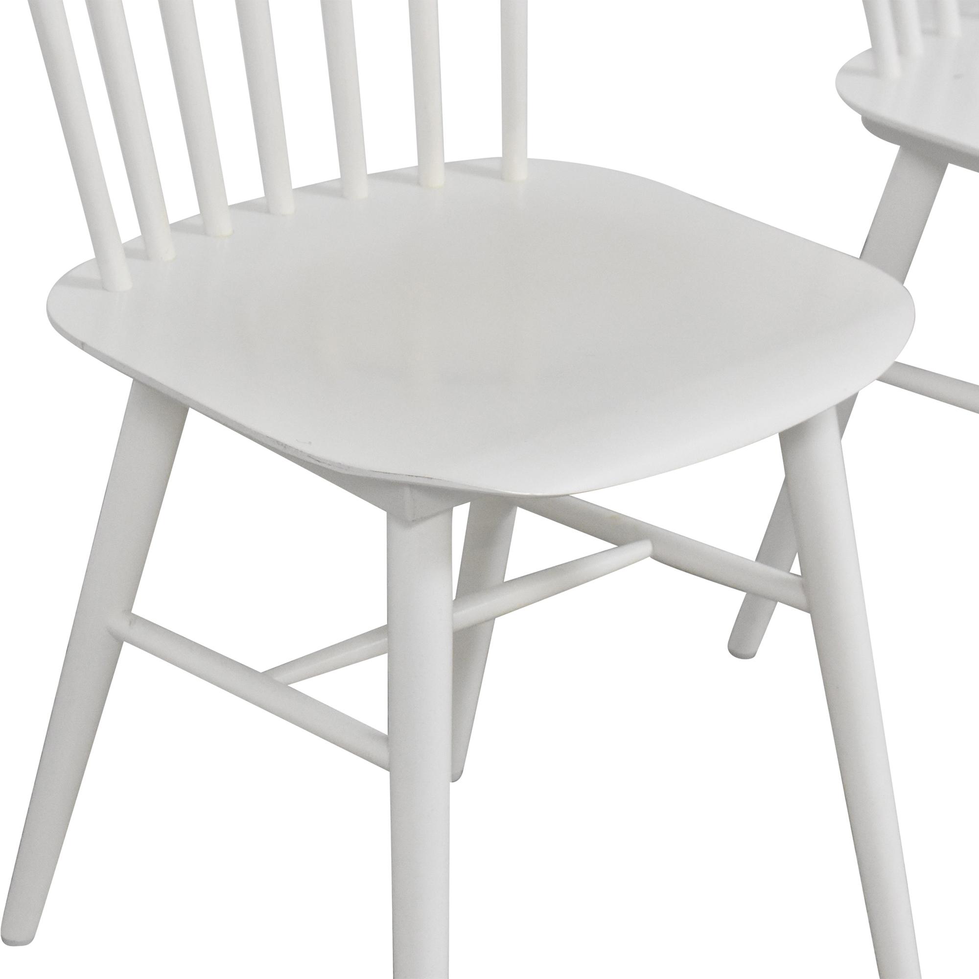 Design Within Reach Design Within Reach Salt Side Chairs on sale