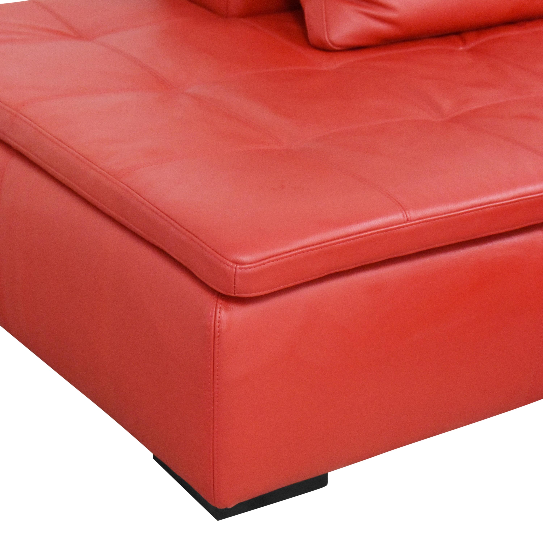 buy BoConcept BoConcept Mezzo Chaise Sectional Sofa and Ottoman online