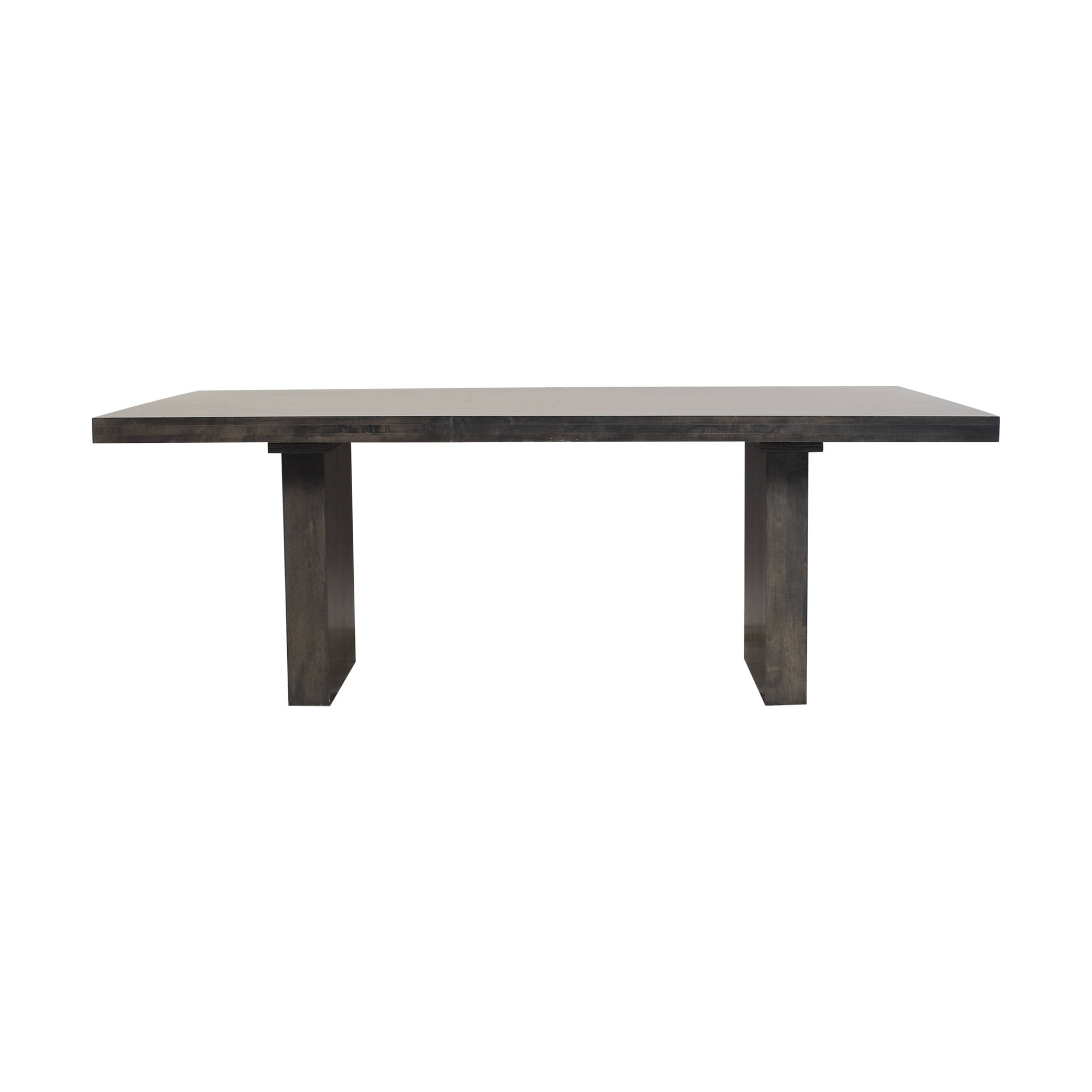 shop Bloomingdale's Double Pedestal Dining Table Bloomingdale's Dinner Tables