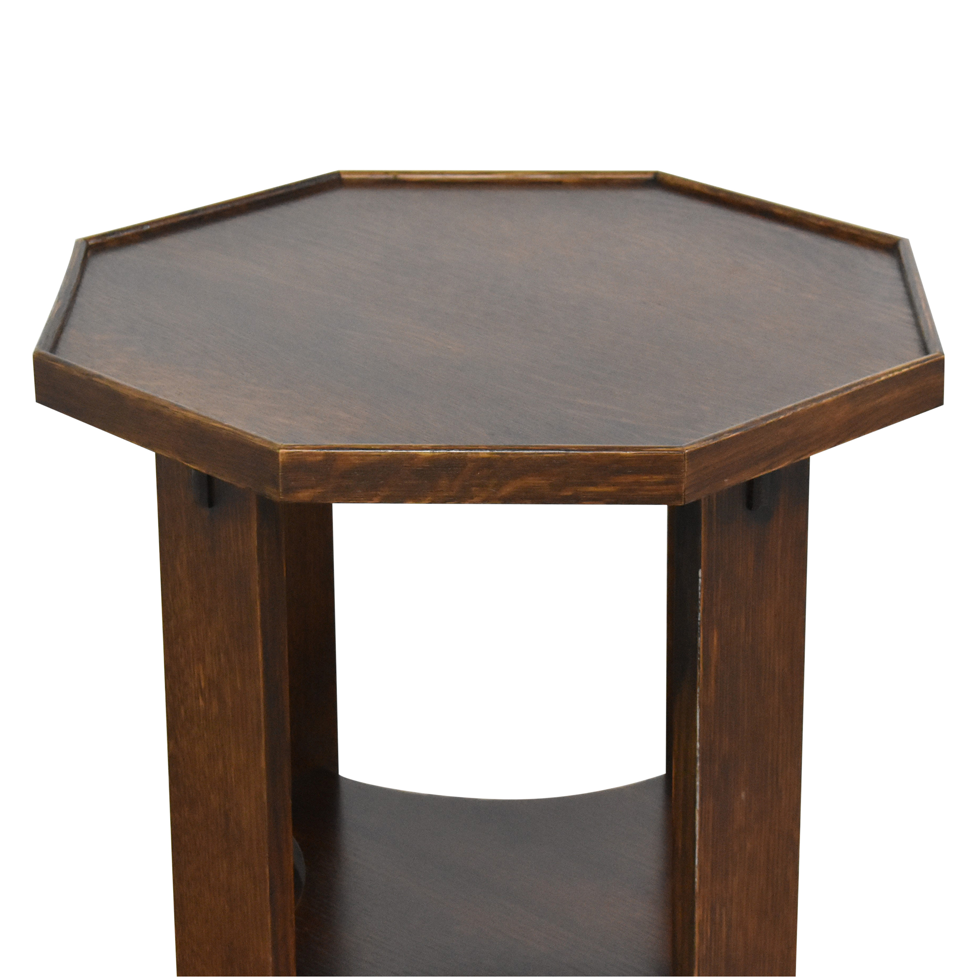 Stickley Furniture Hexagonal Side Table sale