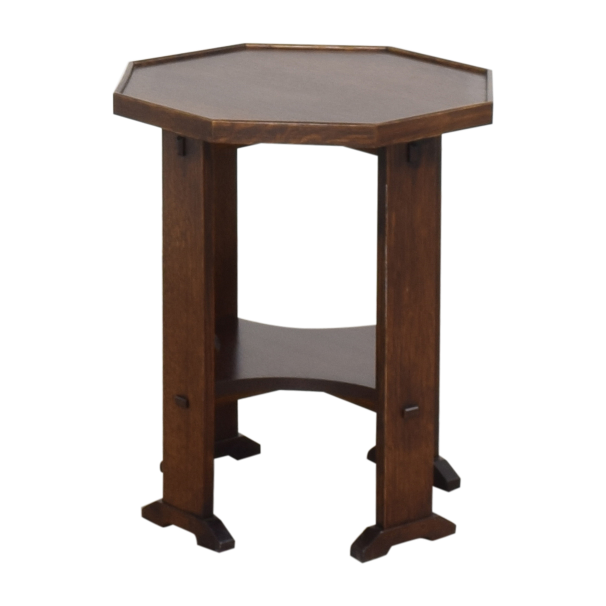 Stickley Furniture Stickley Furniture Hexagonal Side Table dimensions