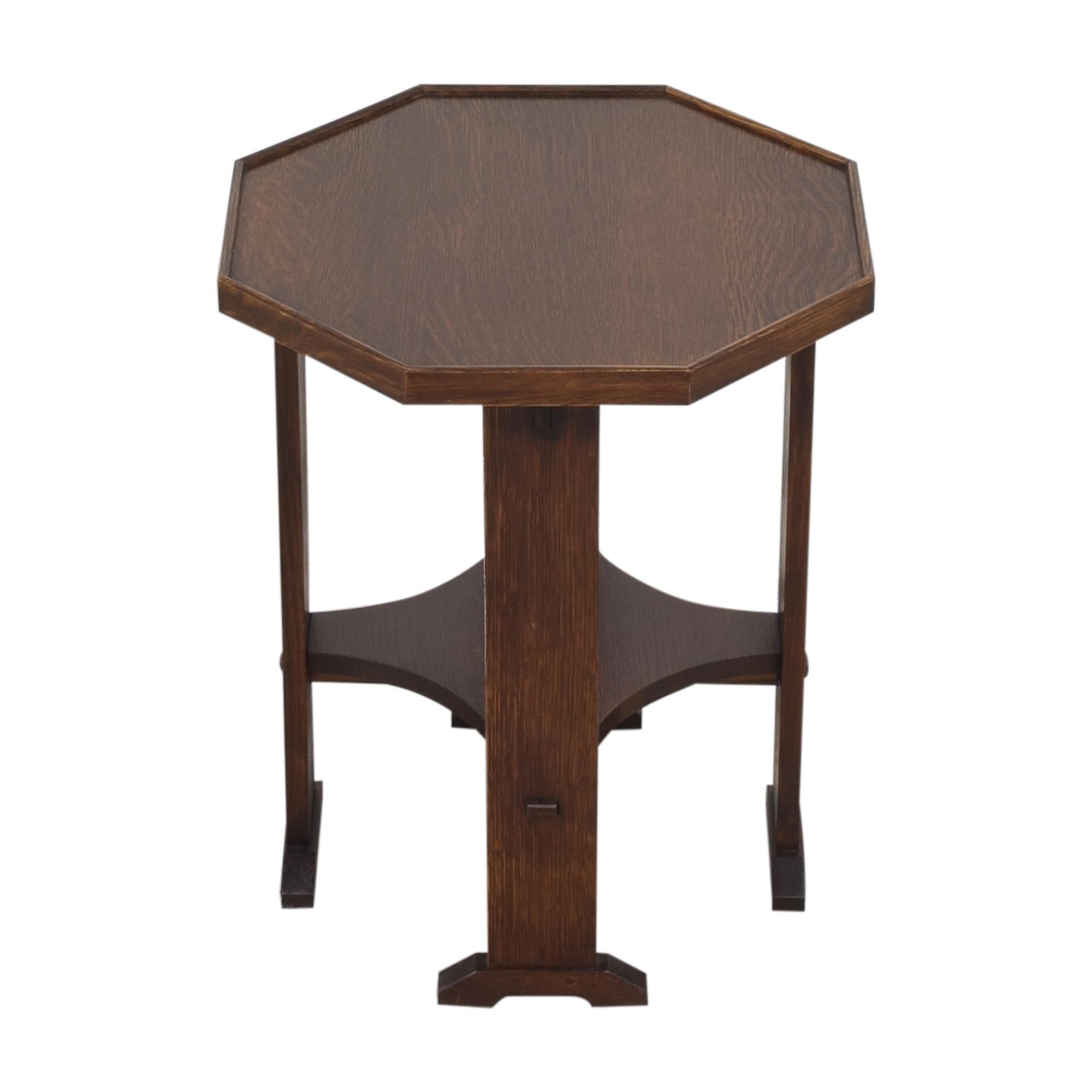 Stickley Furniture Stickley Furniture Hexagonal Side Table nj