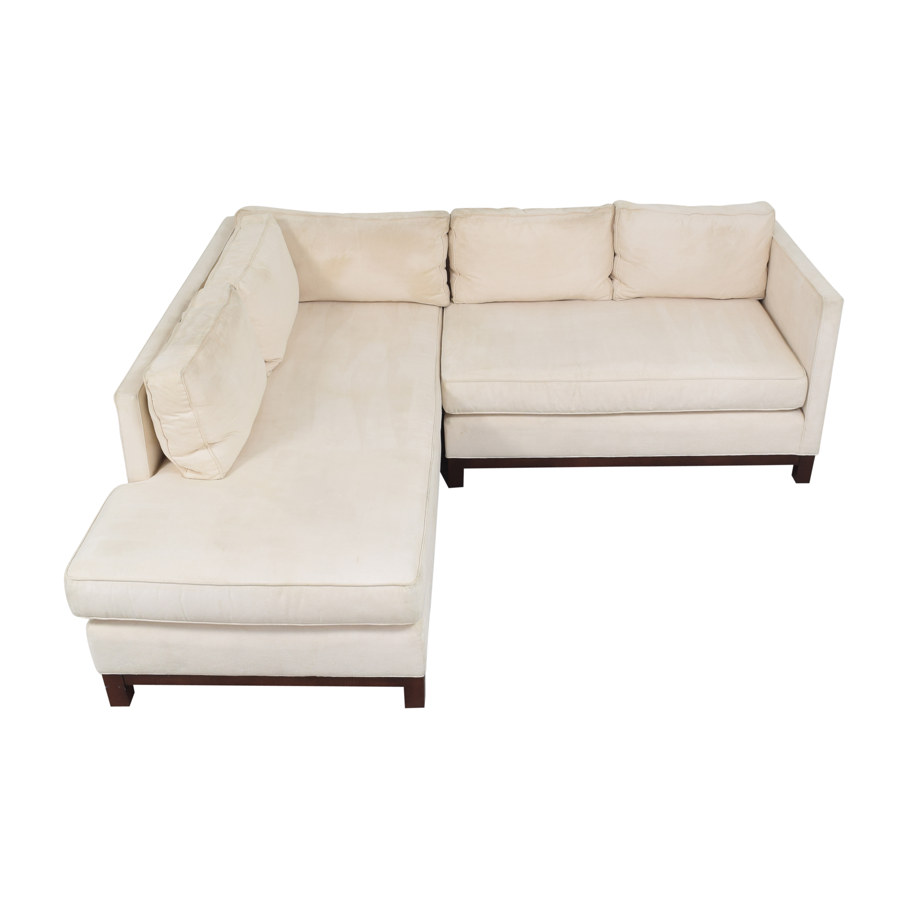 buy Mitchell Gold + Bob Williams Mitchell Gold + Bob Williams Clifton Chaise Sectional Sofa online