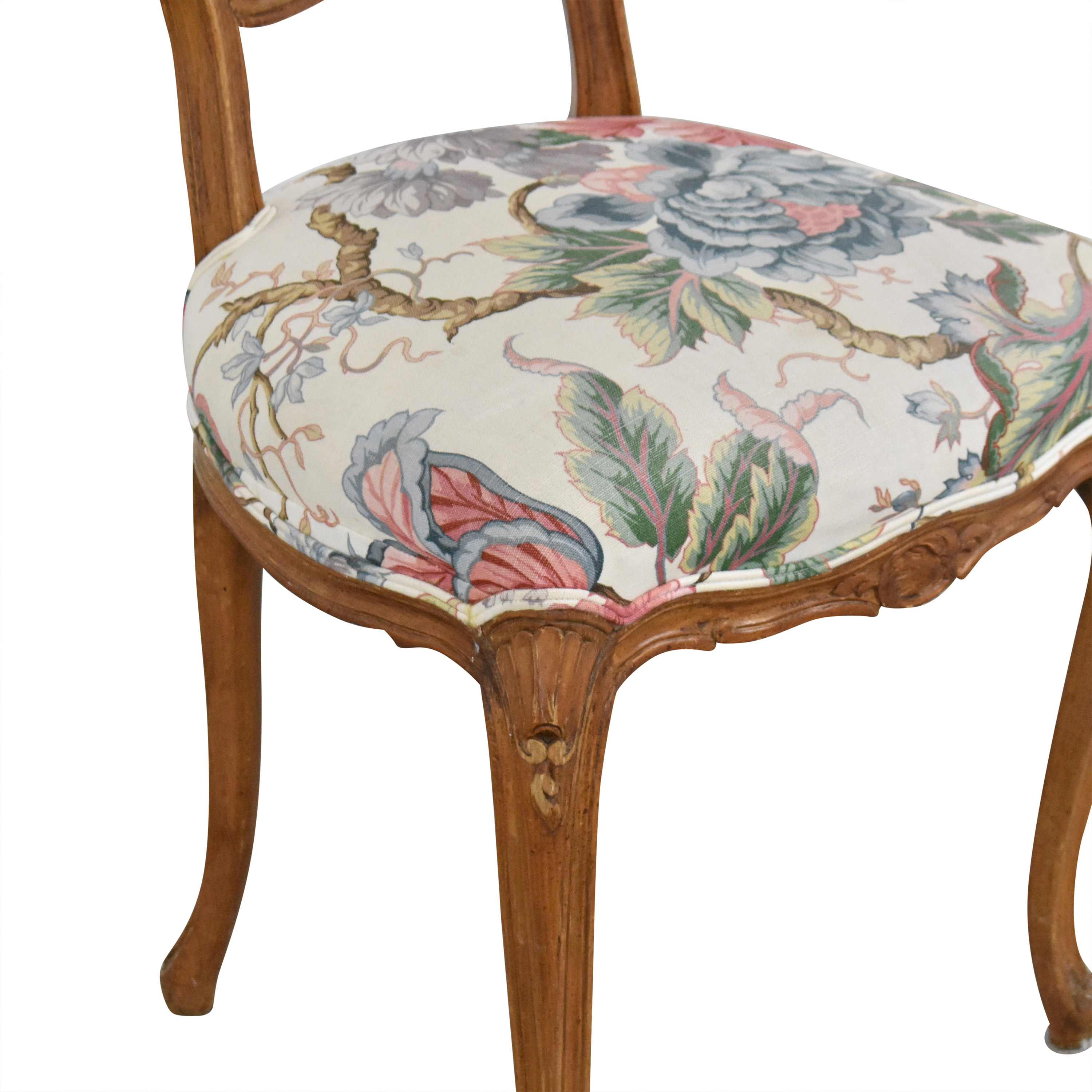 buy  Floral Vintage-Style Upholstered Chair online
