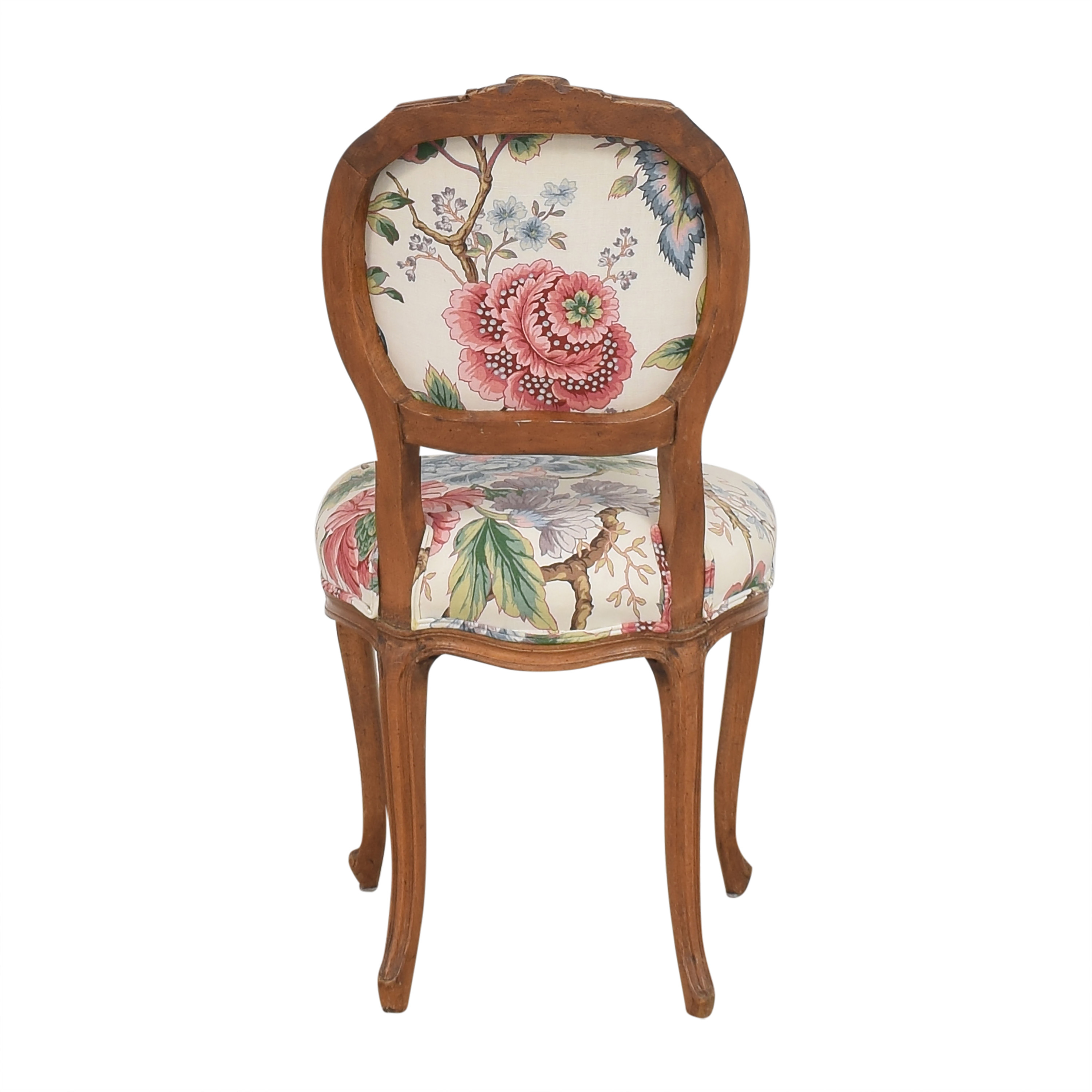 Floral Vintage-Style Upholstered Chair price