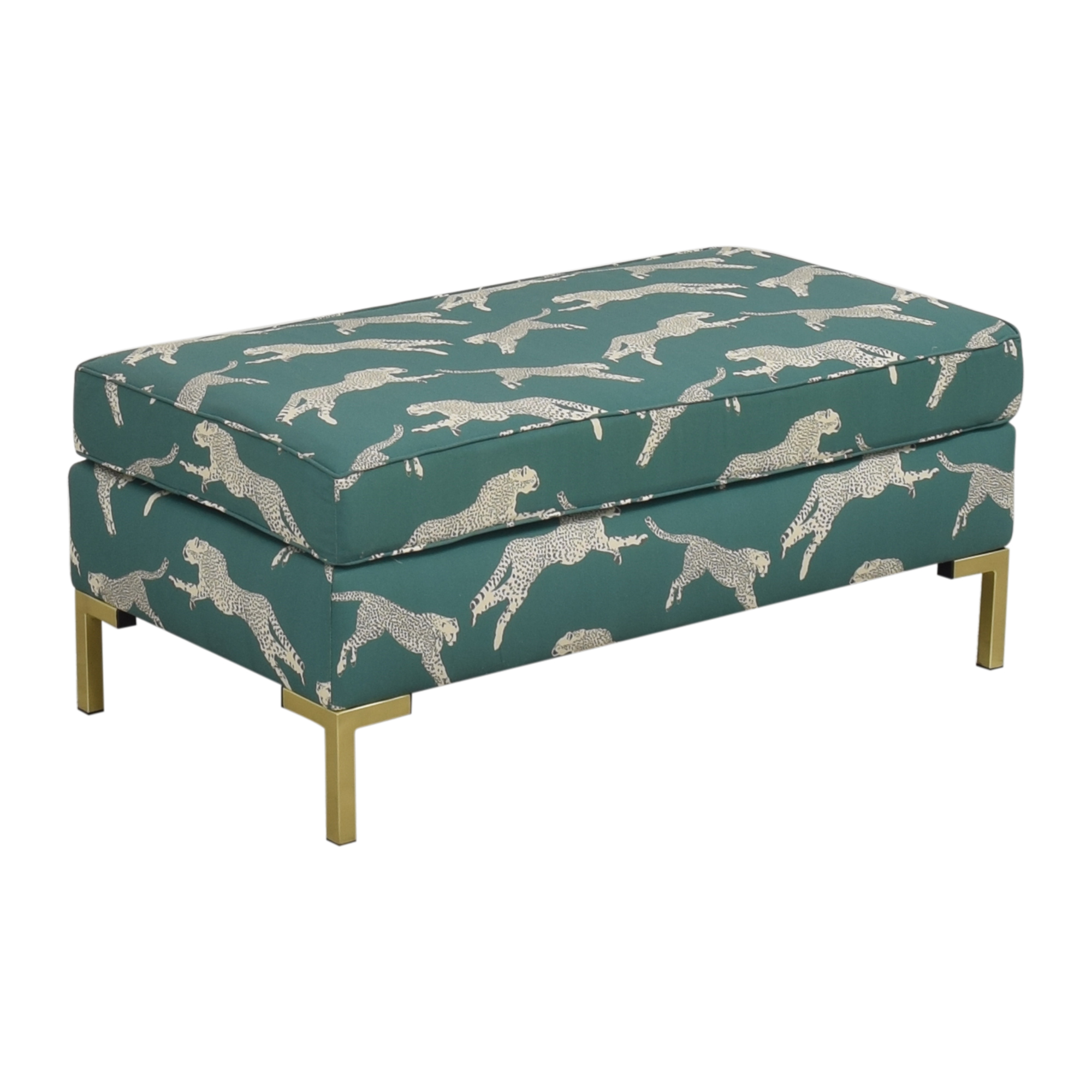 The Inside The Inside Polo Green Cheetah Modern Bench ct