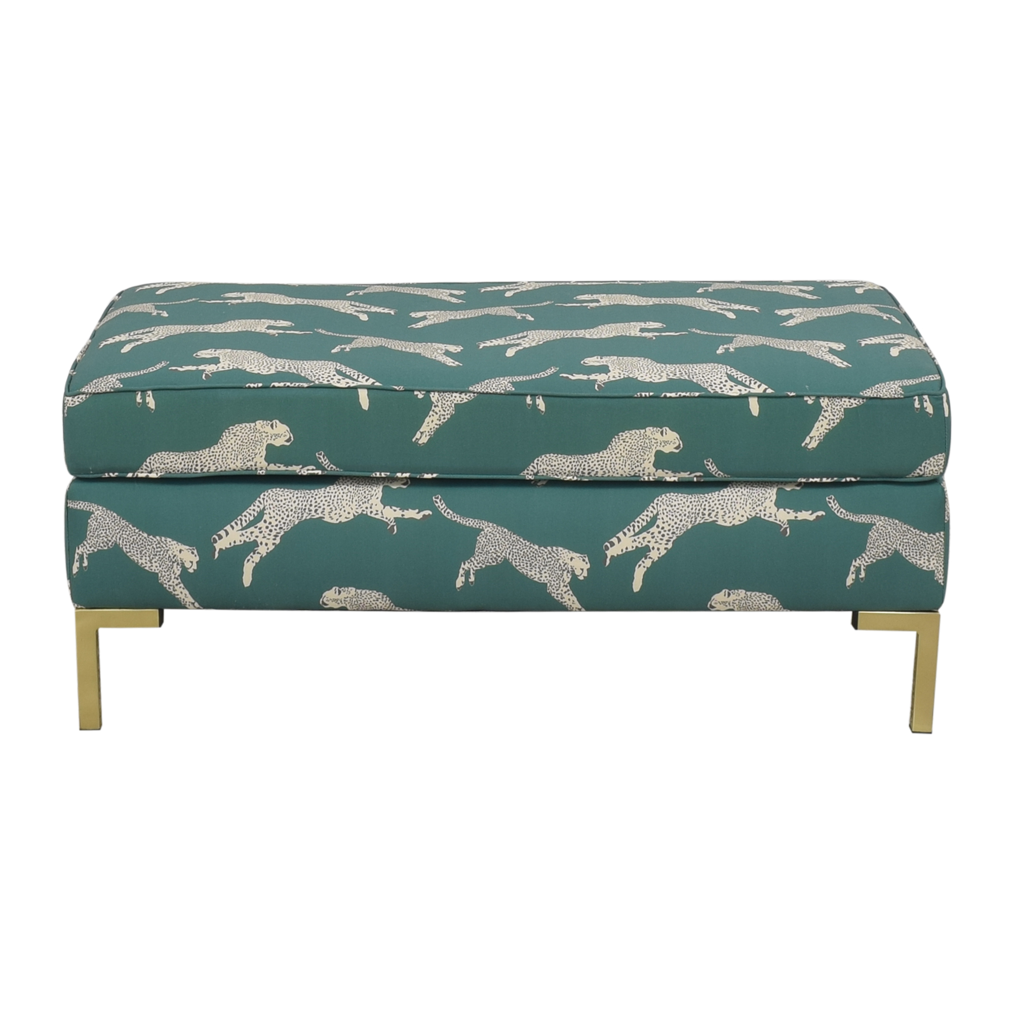 The Inside The Inside Polo Green Cheetah Modern Bench coupon