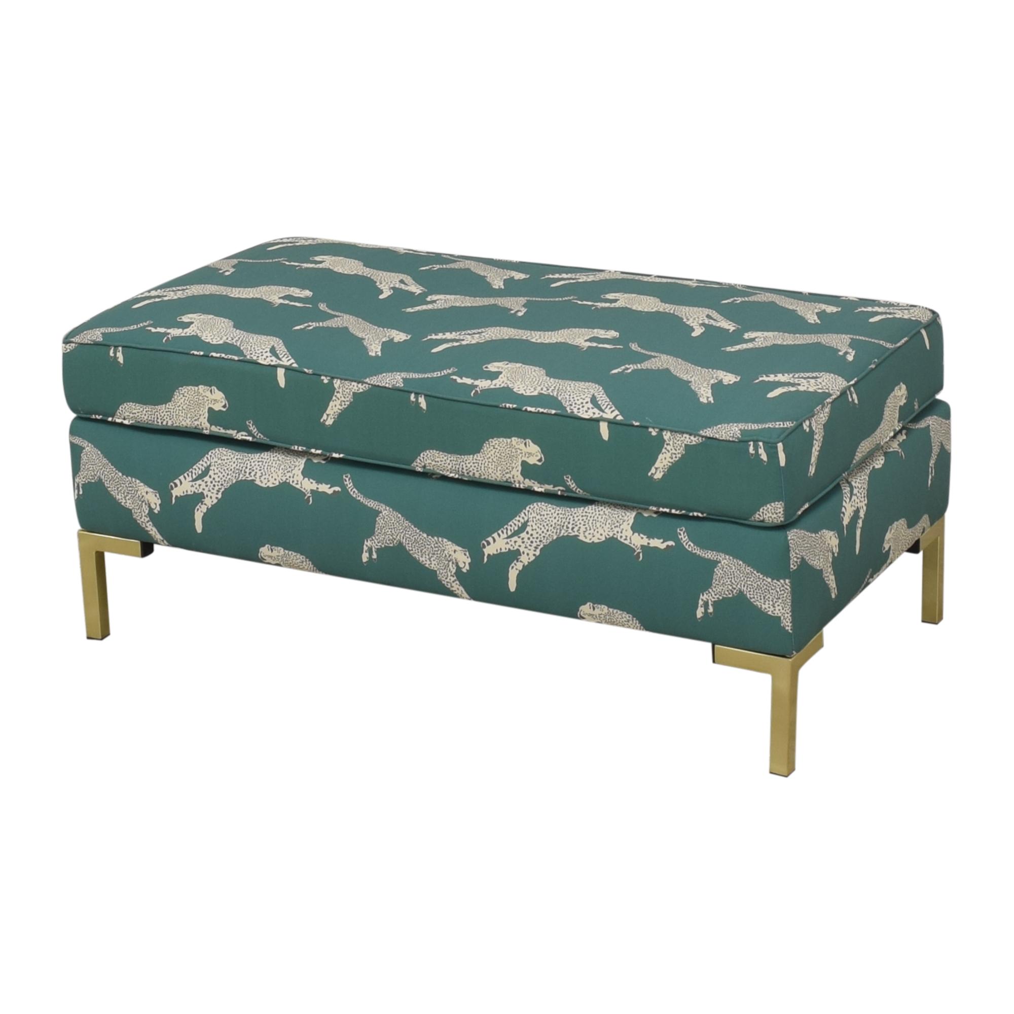buy The Inside Polo Green Cheetah Modern Bench The Inside