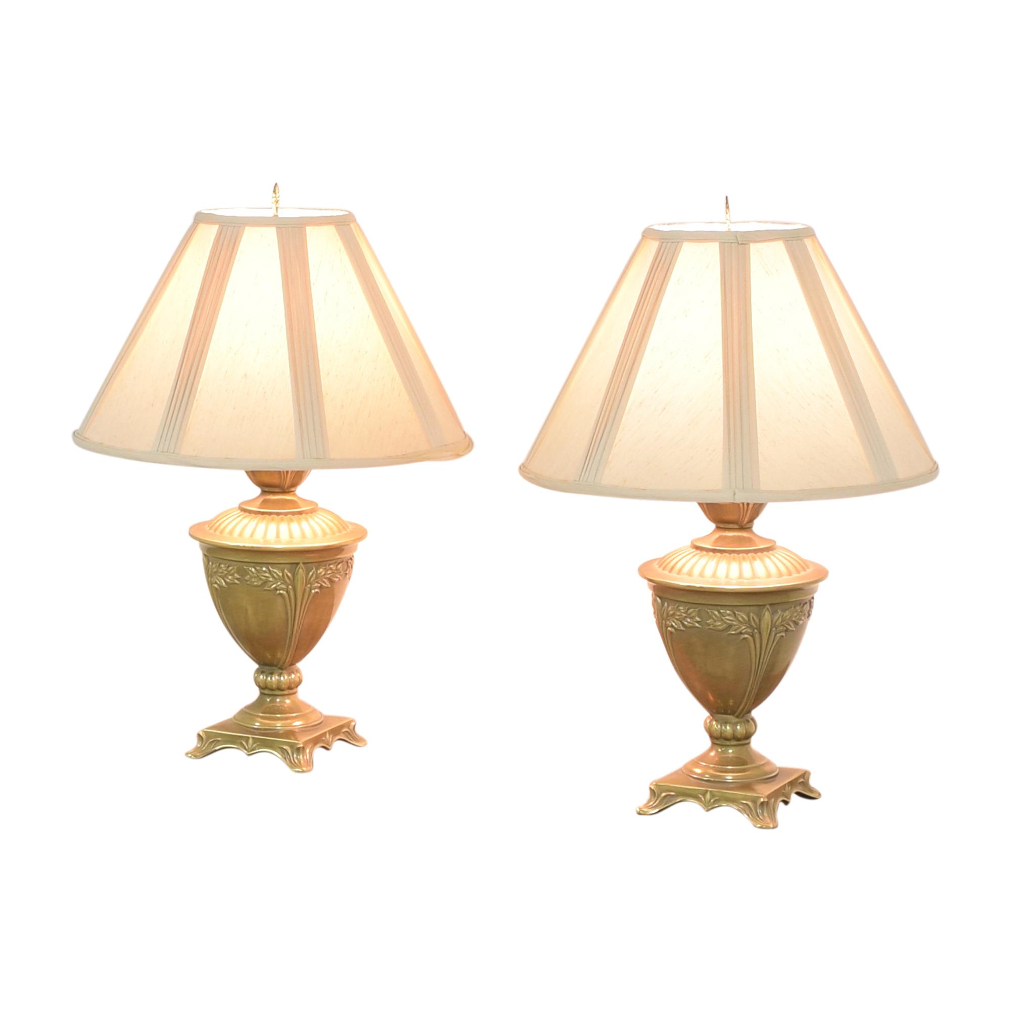 Ethan Allen Ethan Allen Urn Table Lamps Decor