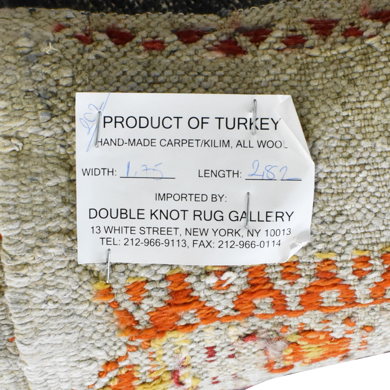 shop Double Knot Kilim Rug Double Knot Decor