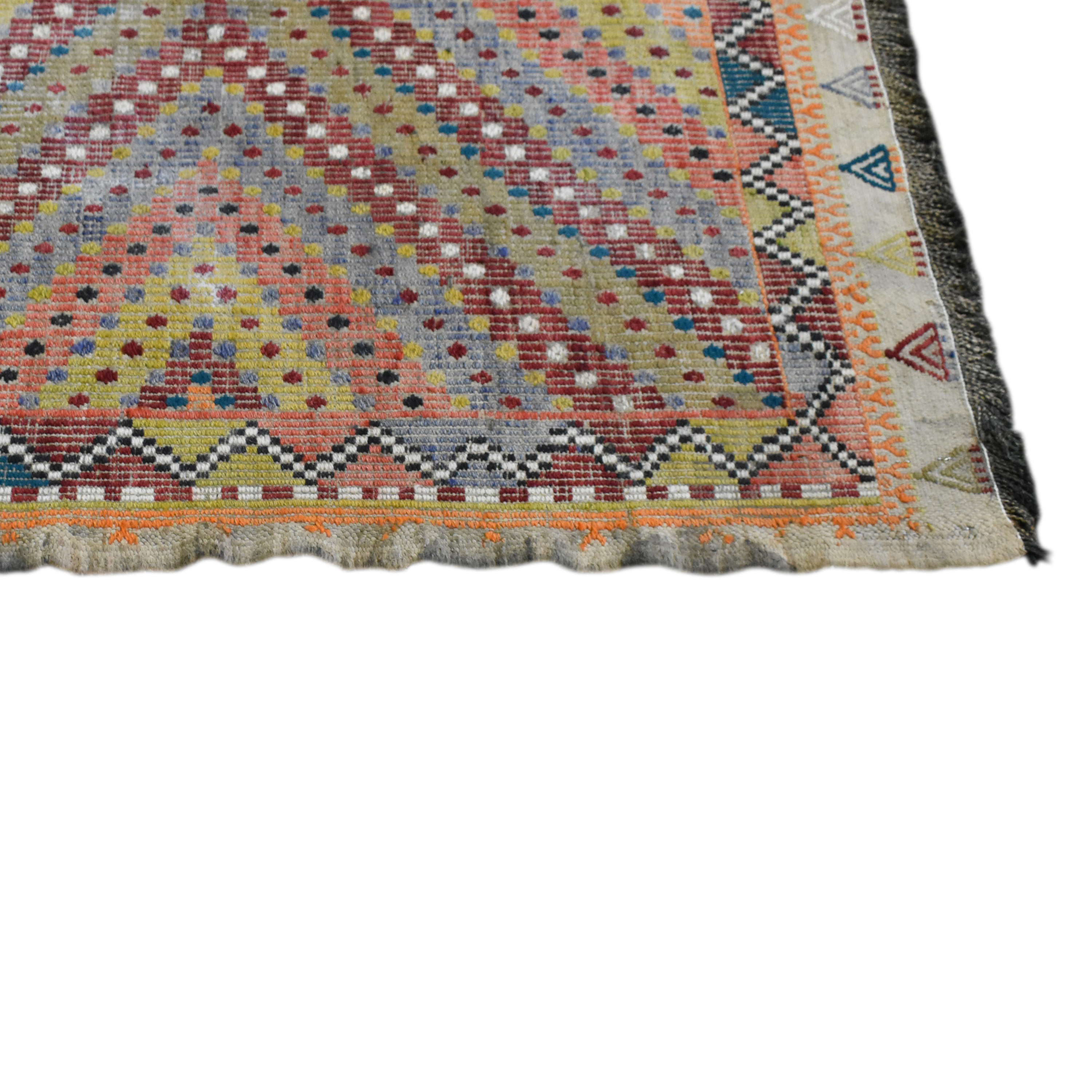 buy Double Knot Kilim Rug Double Knot Decor