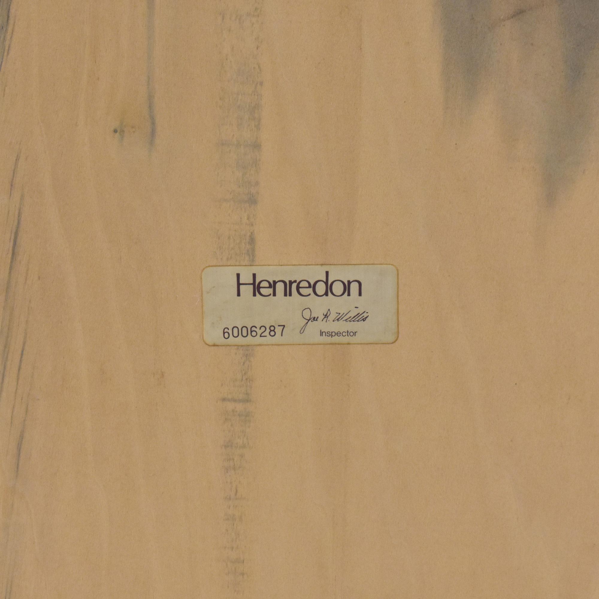 Henredon Furniture Henredon Framed Mirror
