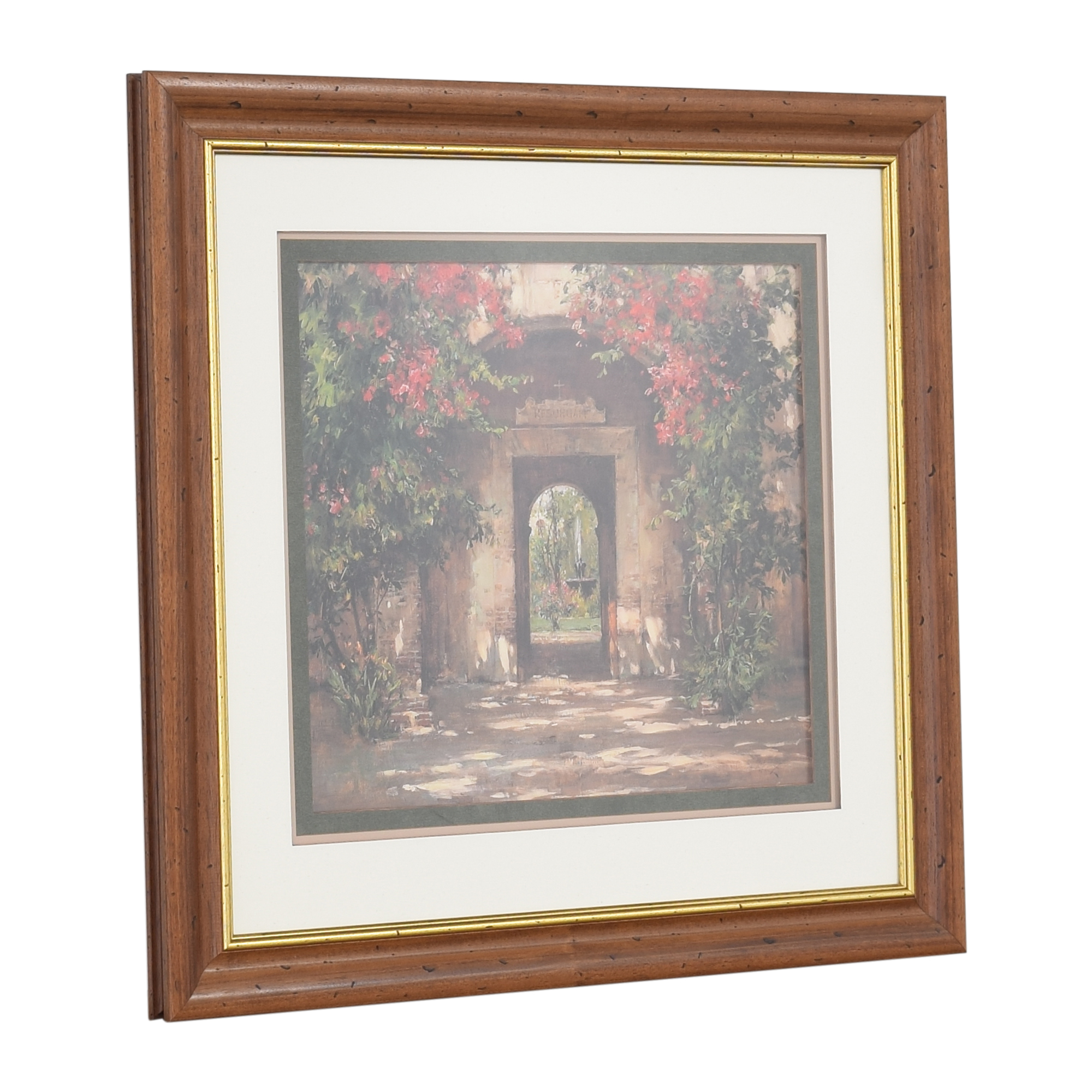 Ethan Allen Ethan Allen Flowered Doorway Wall Art Wall Art