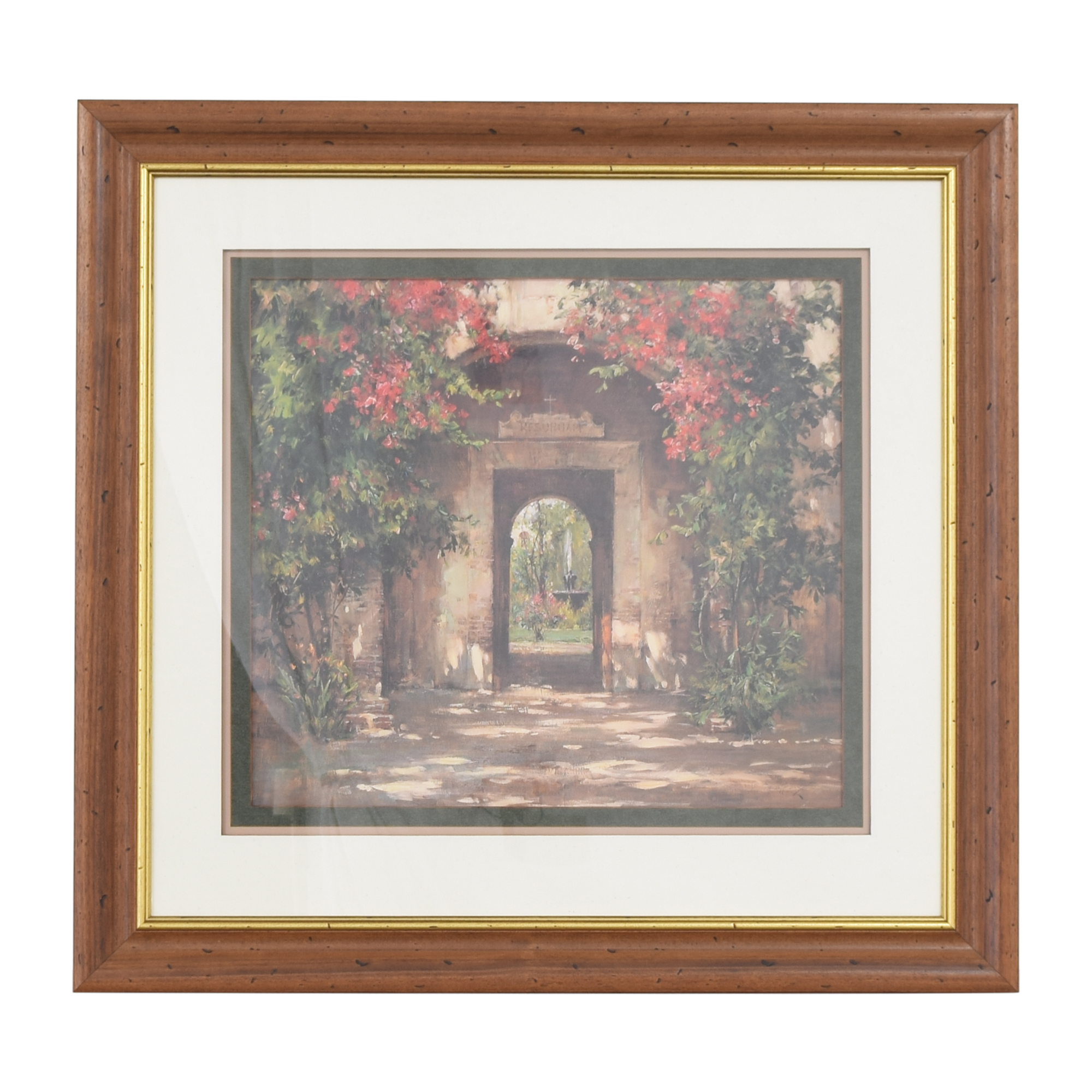 buy Ethan Allen Ethan Allen Flowered Doorway Wall Art online