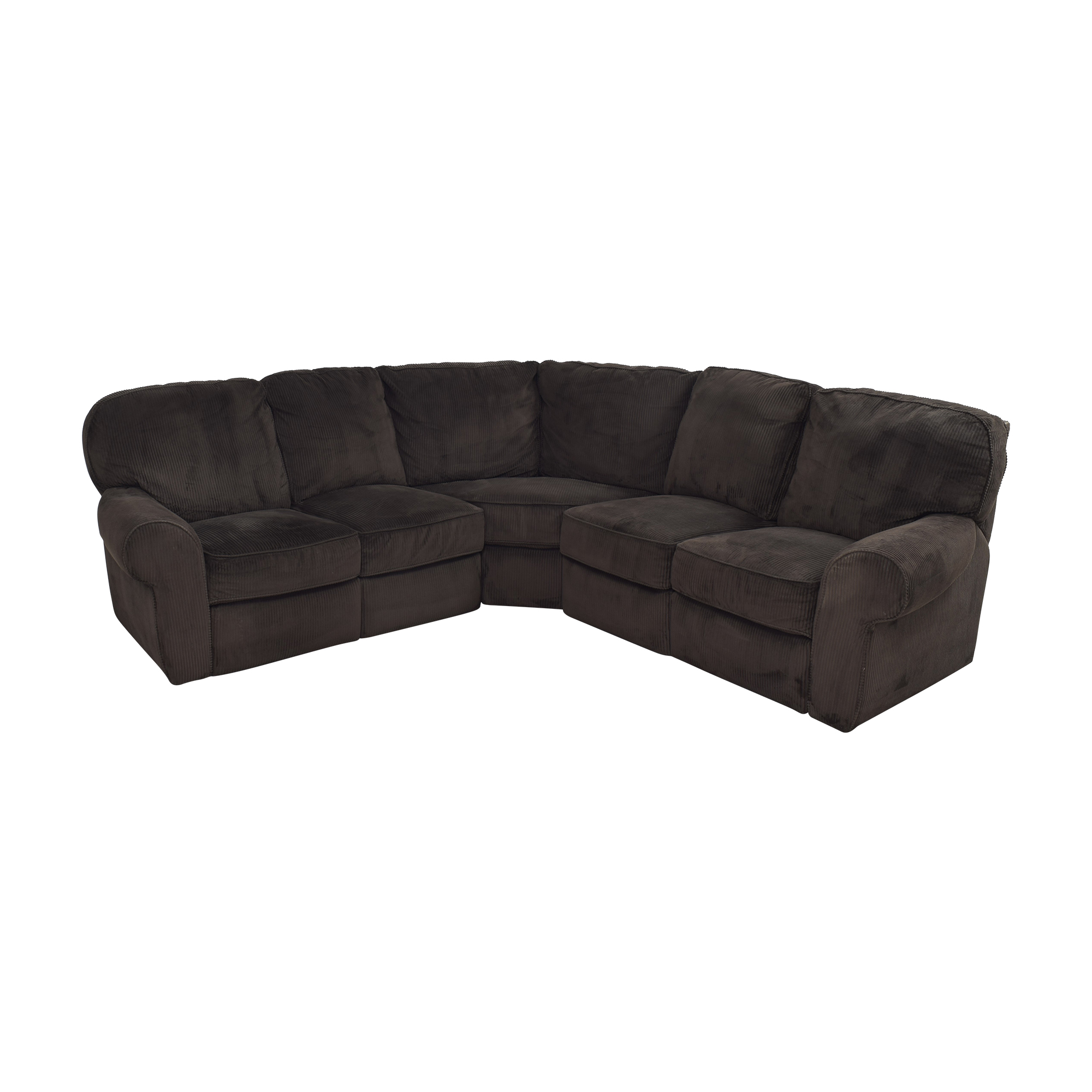 Lane Furniture Lane Furniture Megan Three Piece Reclining Sectional used
