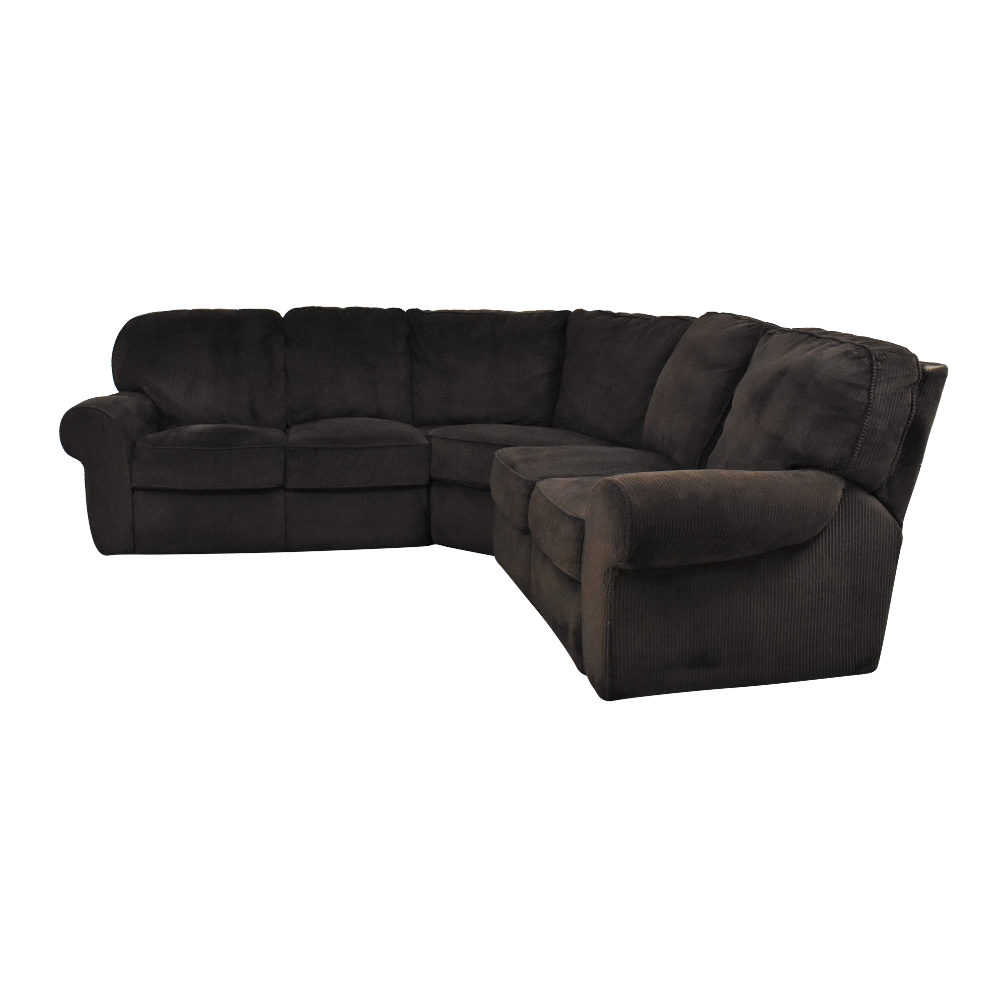 Lane Furniture Lane Furniture Megan Three Piece Reclining Sectional Sectionals