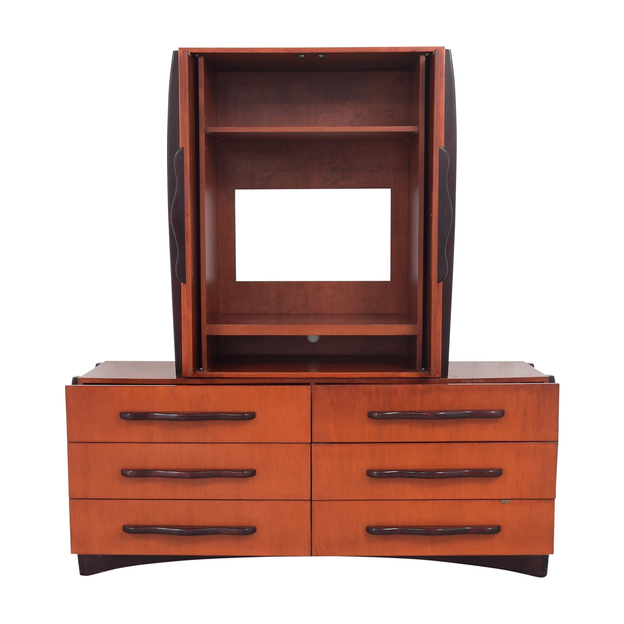 Dialogica Dialogica Malindi Double Dresser with Media Cabinet  ma